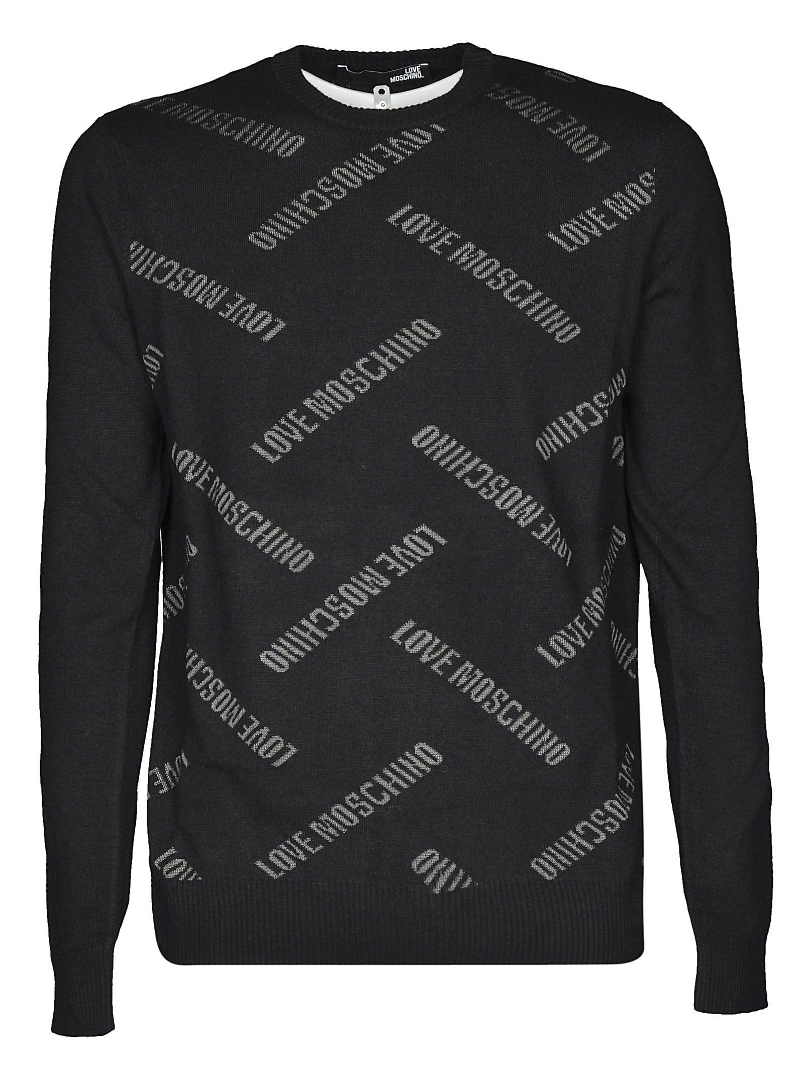 Love Moschino Intarsia Sweater