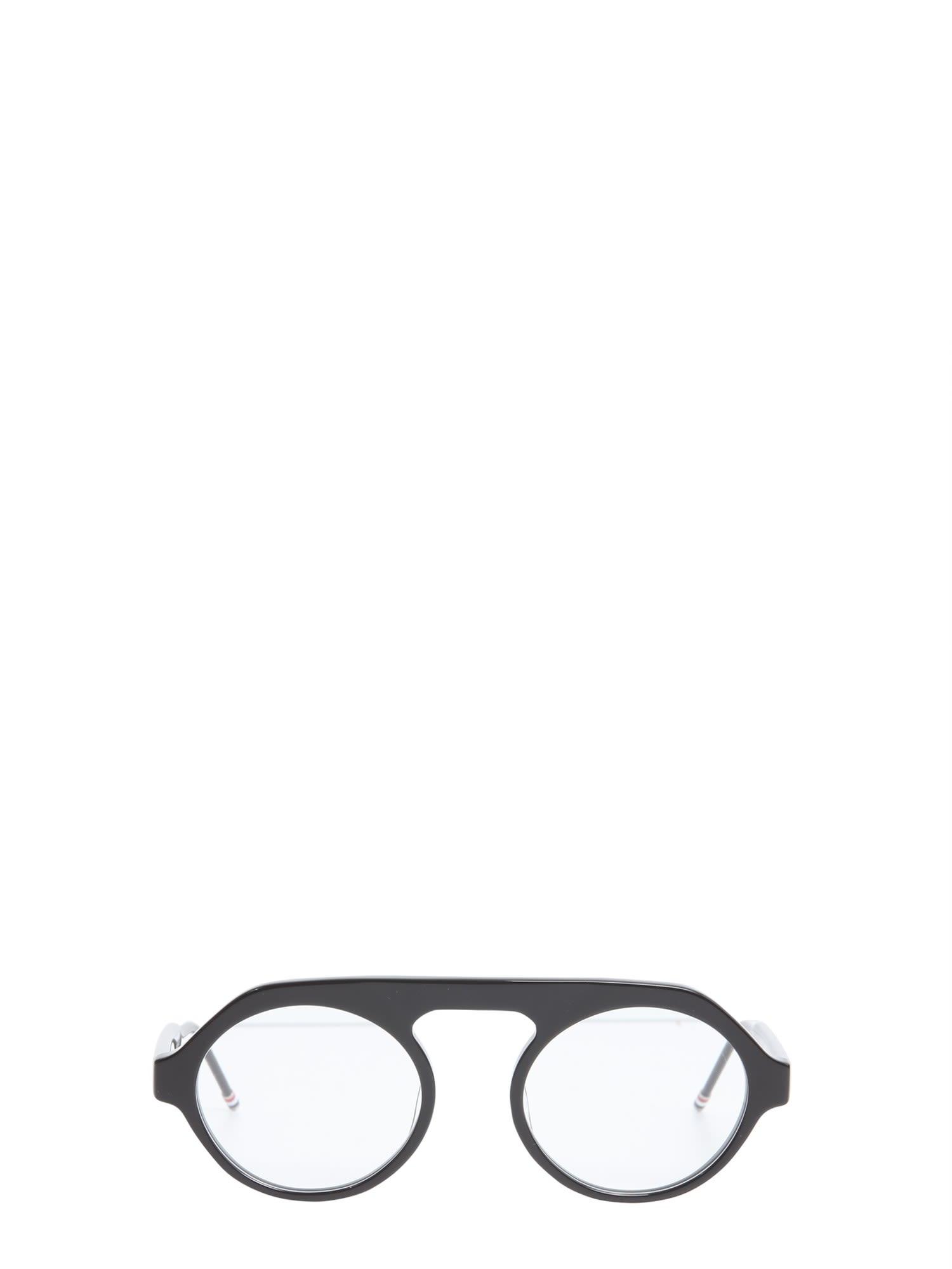 Thom Browne Oversize Aviator Optical Glasses