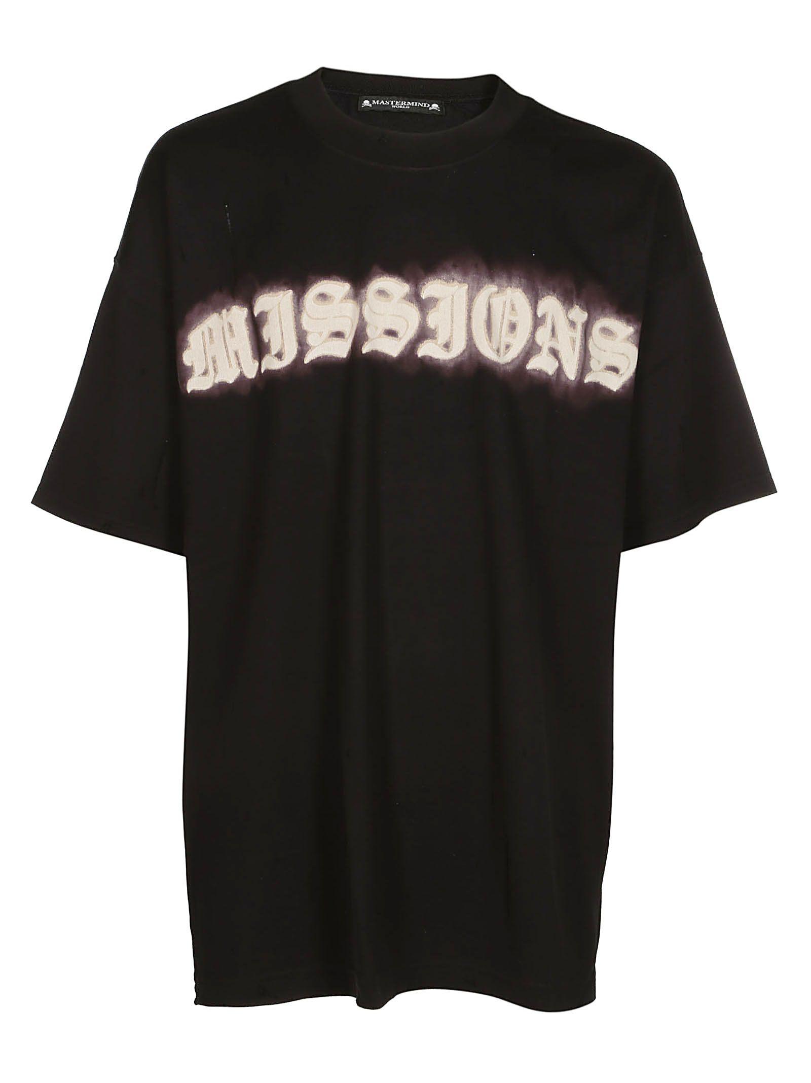 Mastermind Japan Missions Print T-shirt