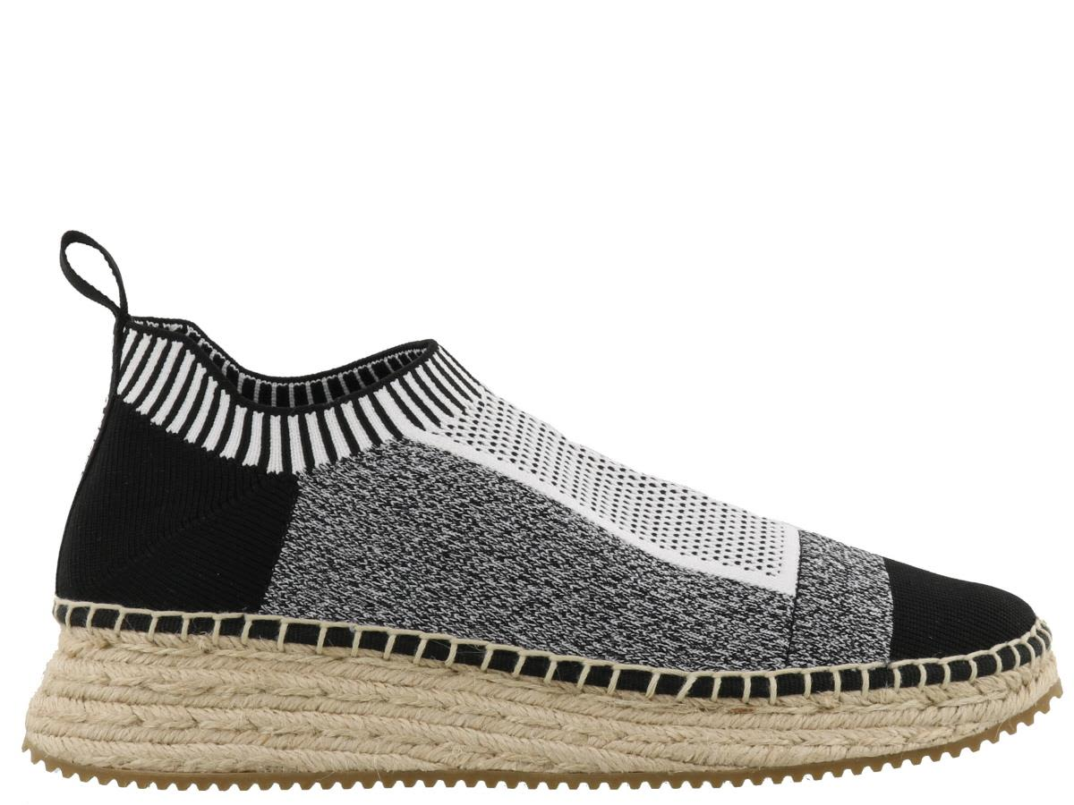 Alexander Wang Dylan Combo Knit Sneakers