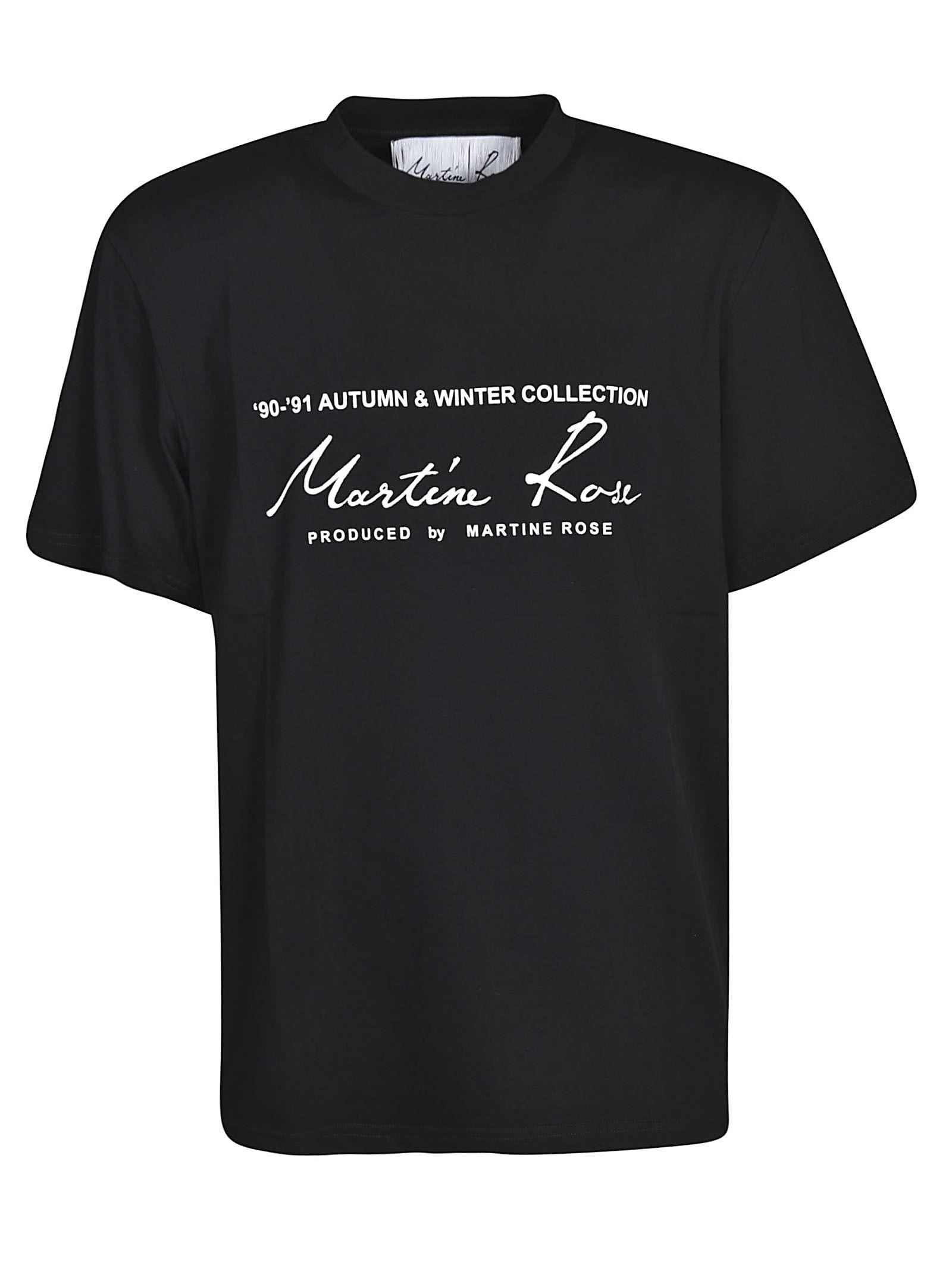 Martine Rose Printed Logo T-shirt