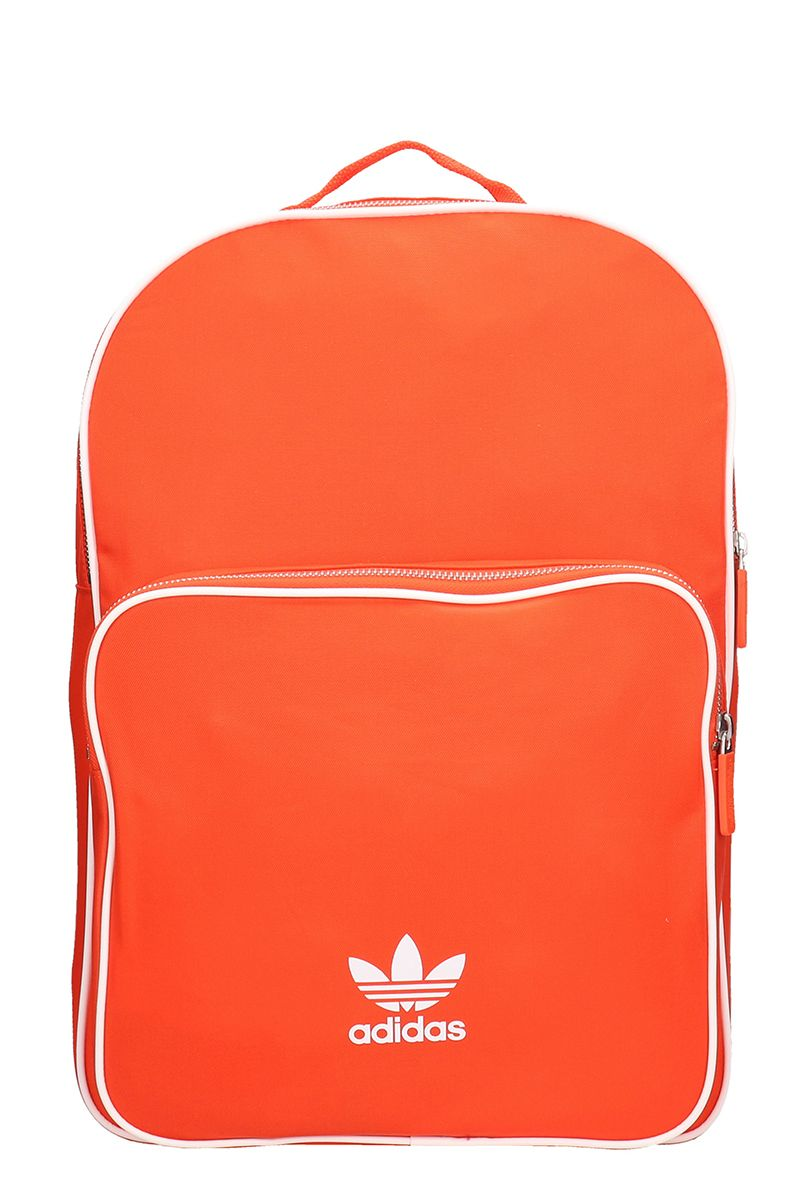 0d554dacd2c6 Adidas Originals Black Technical Fabric Backpack In Red