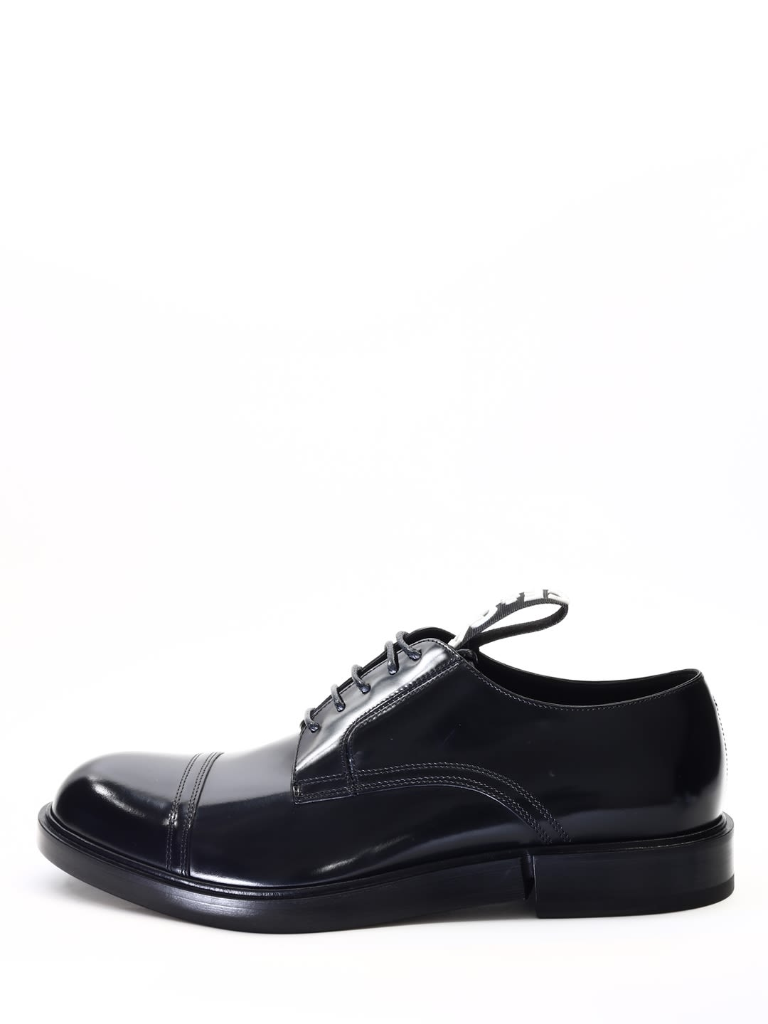 Dolce & Gabbana Derby In Brushed Leather