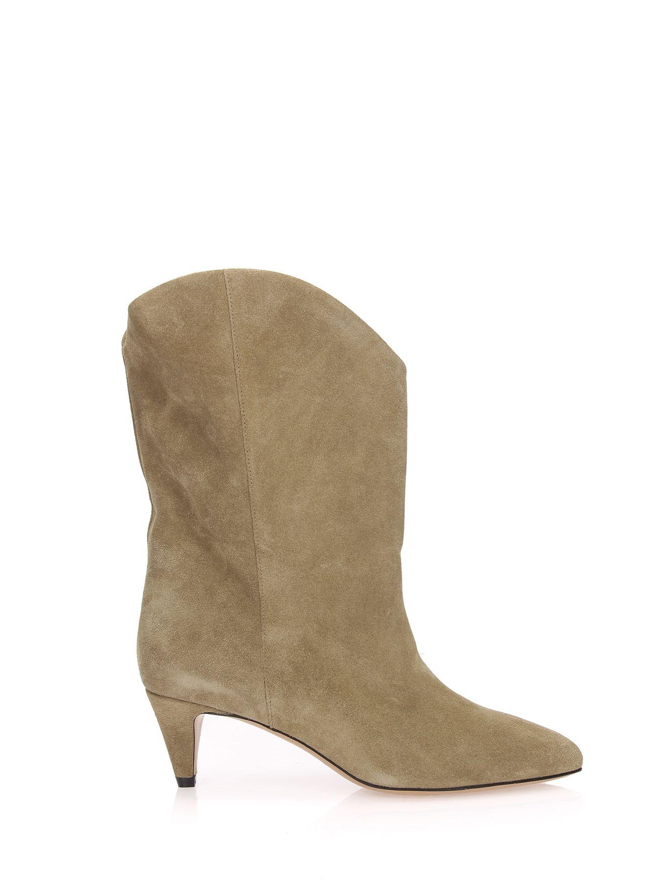 dfa1352645 Etoile Isabel Marant Dernee Ankle Boots In Beige | ModeSens