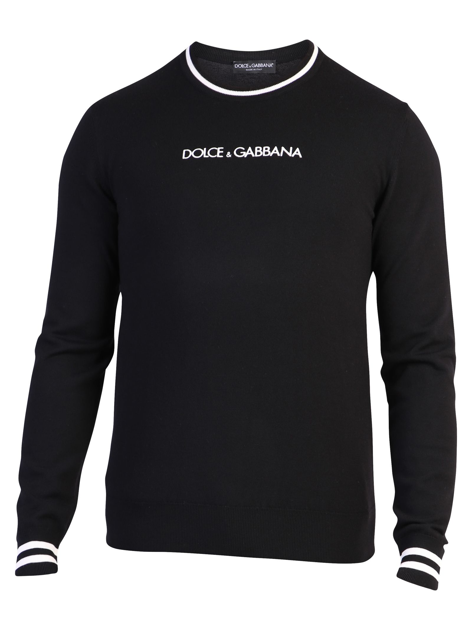 Dolce & Gabbana Branded Sweater