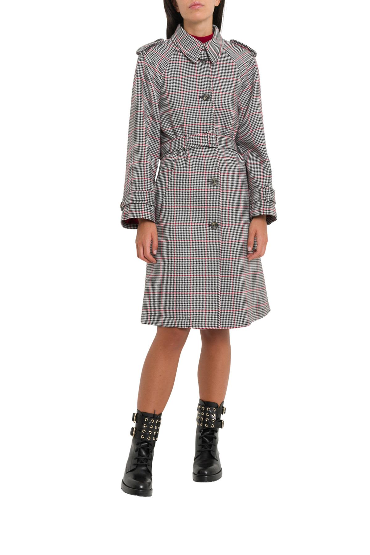 red valentino -  Tweed Trenchcoat