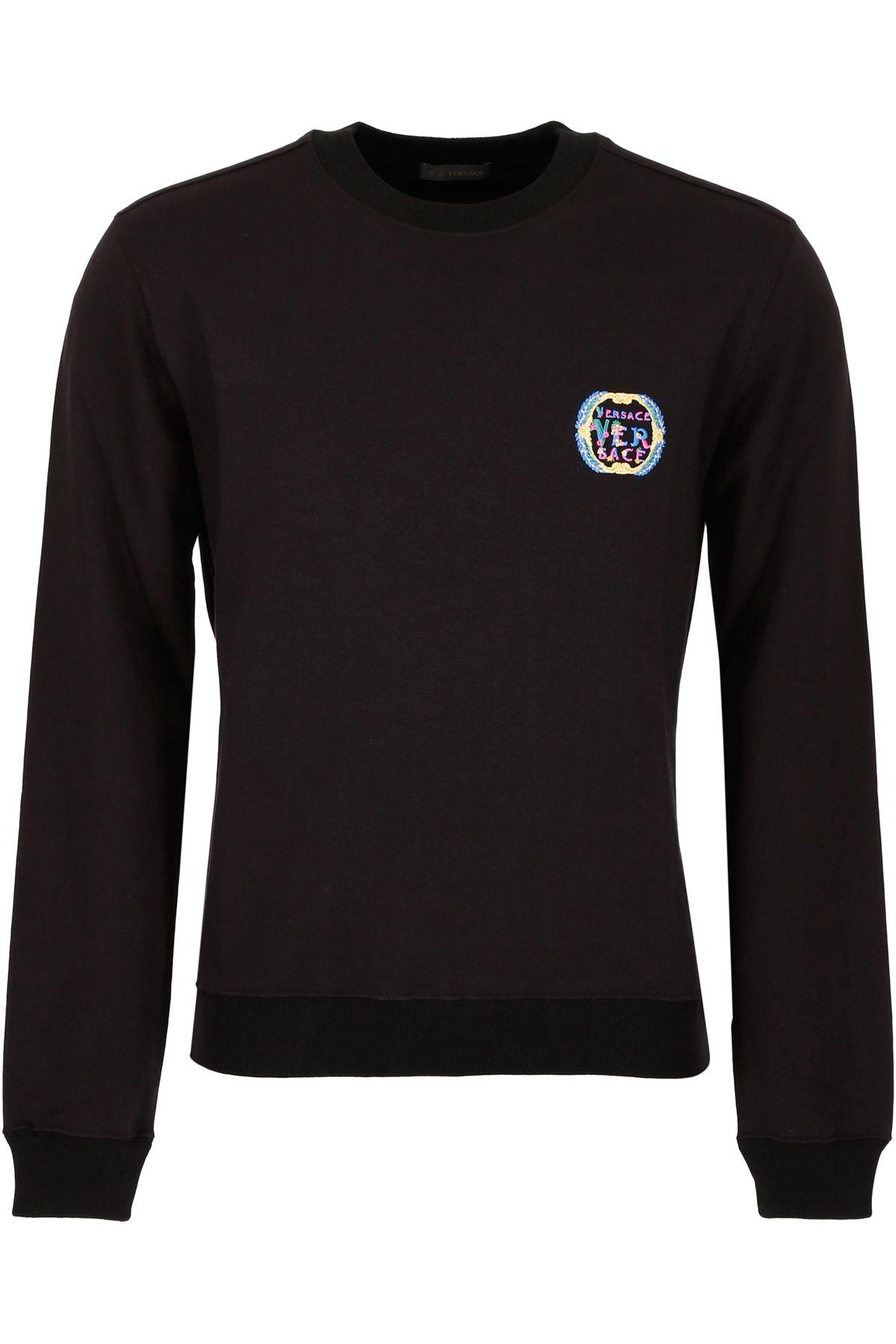 Versace Embroidered Sweatshirt