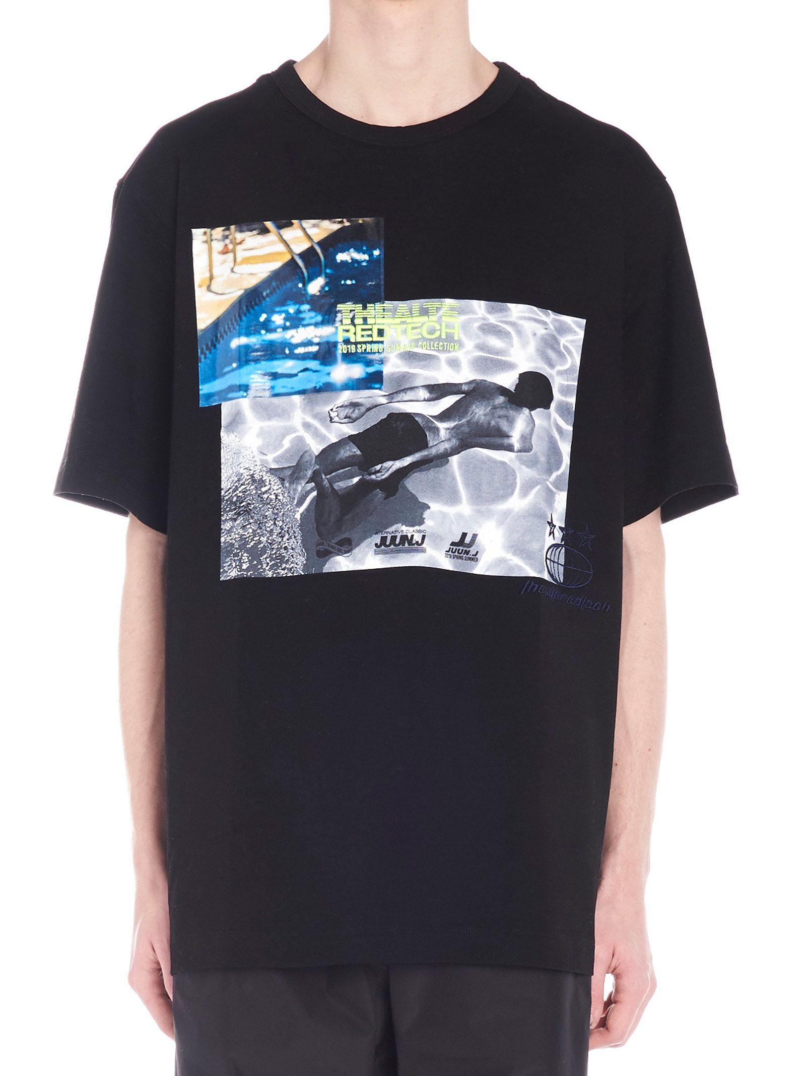 Juun.j 'swimmer' T-shirt