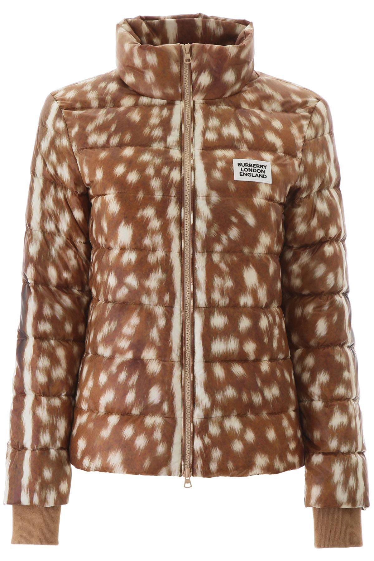 Burberry Deer Print Puffer Jacket Ss20