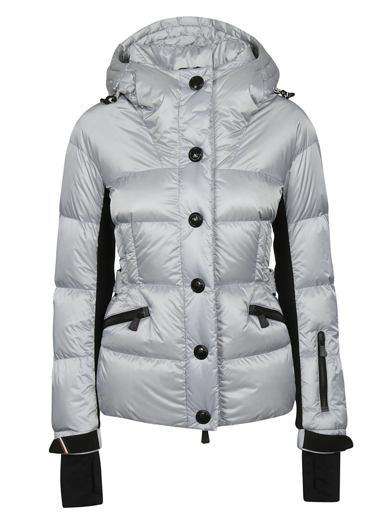 Moncler Grenoble Button-up Padded Jacket