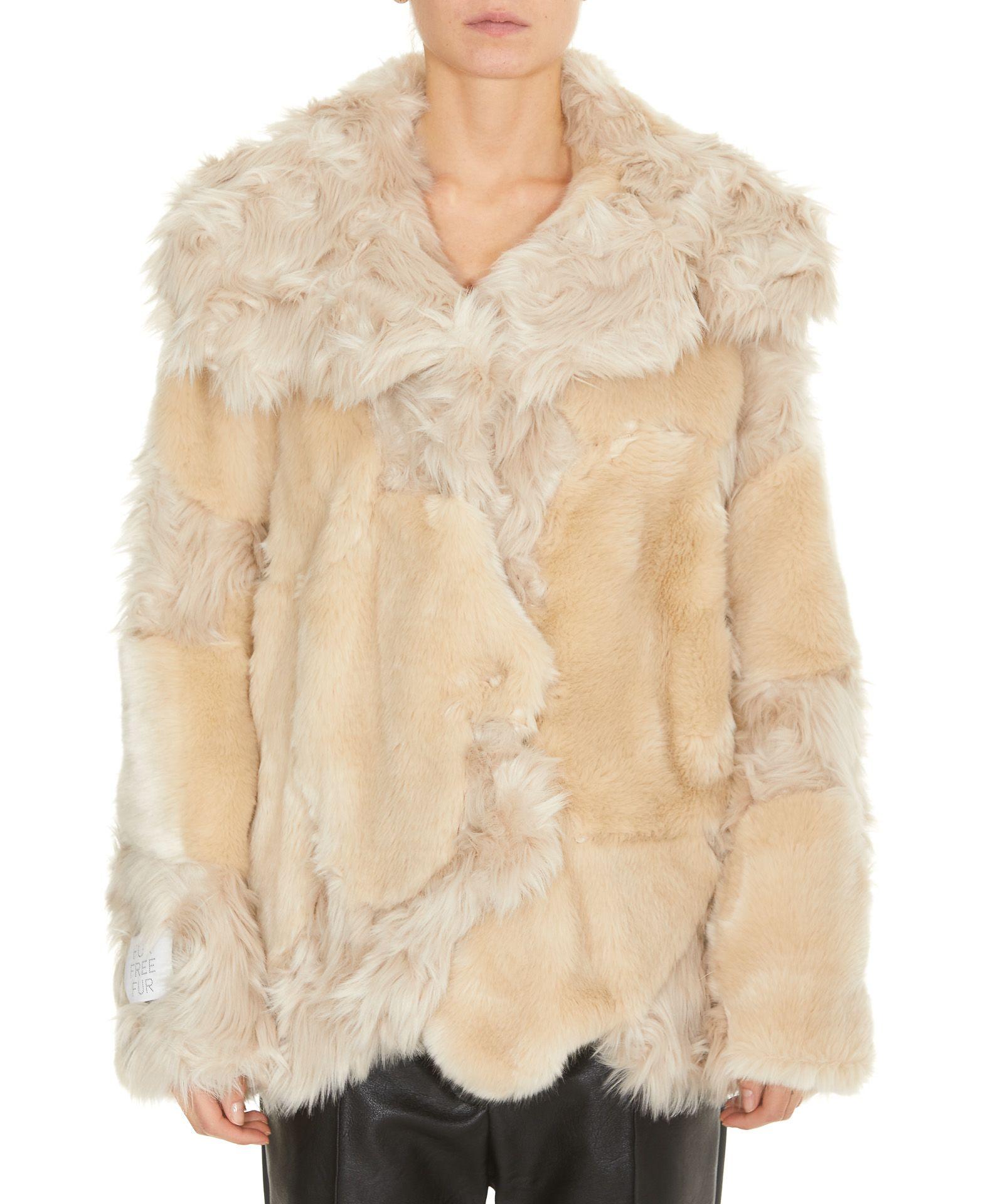 Stella Mccartney Faux Fur Jacket