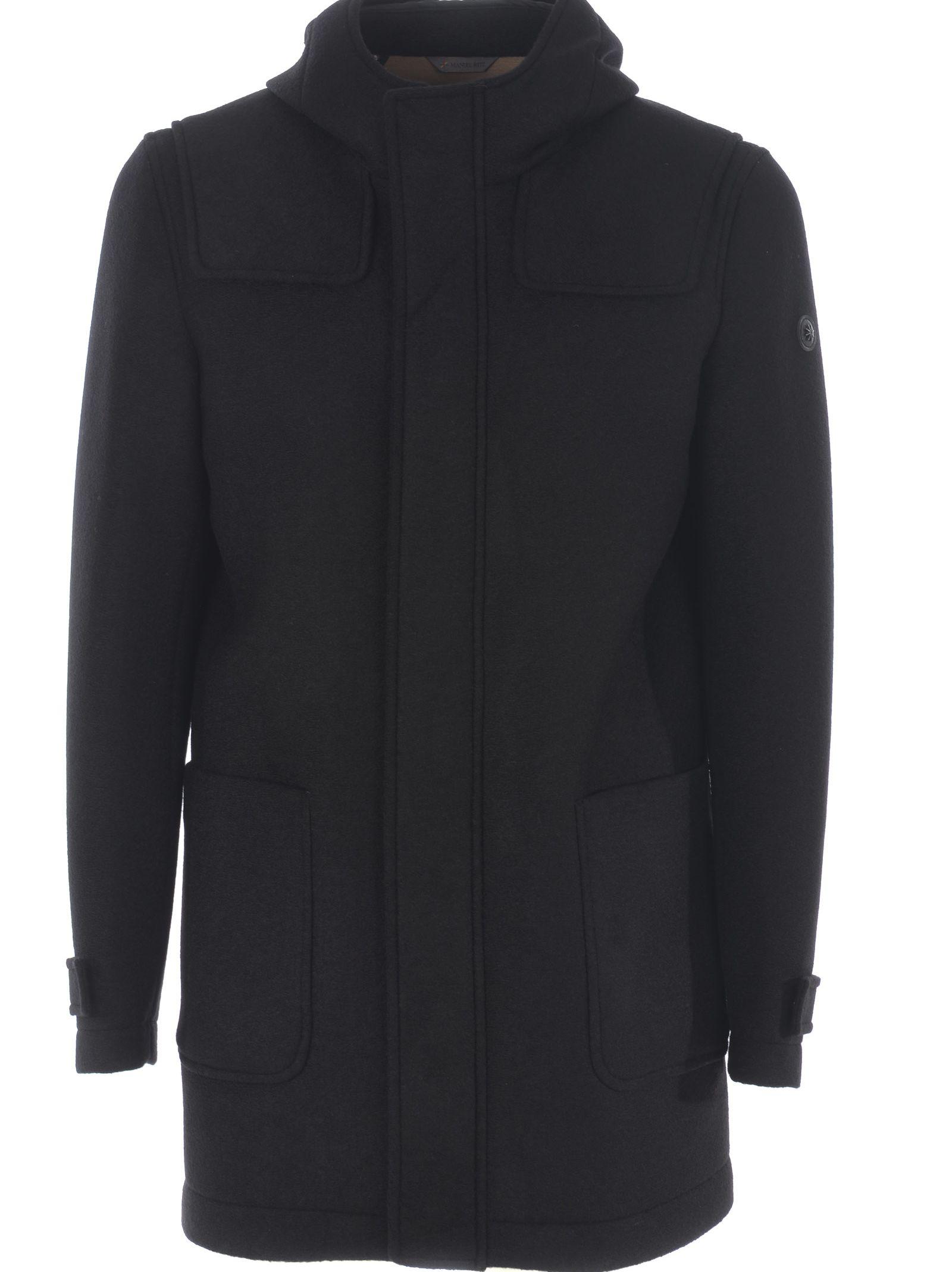 Manuel Ritz Hooded Coat