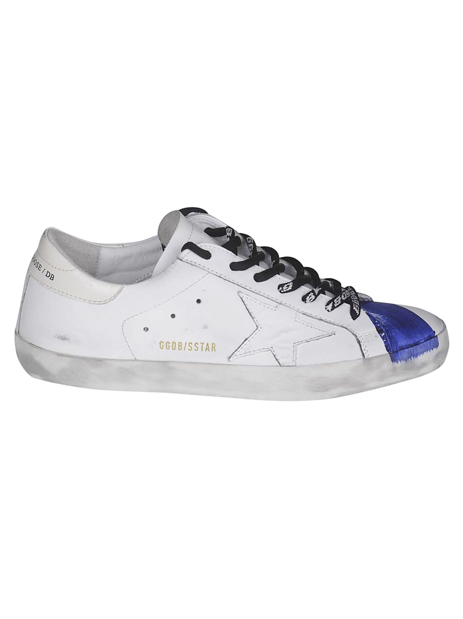 Golden Goose Patch Low-cut Superstar Sneakers