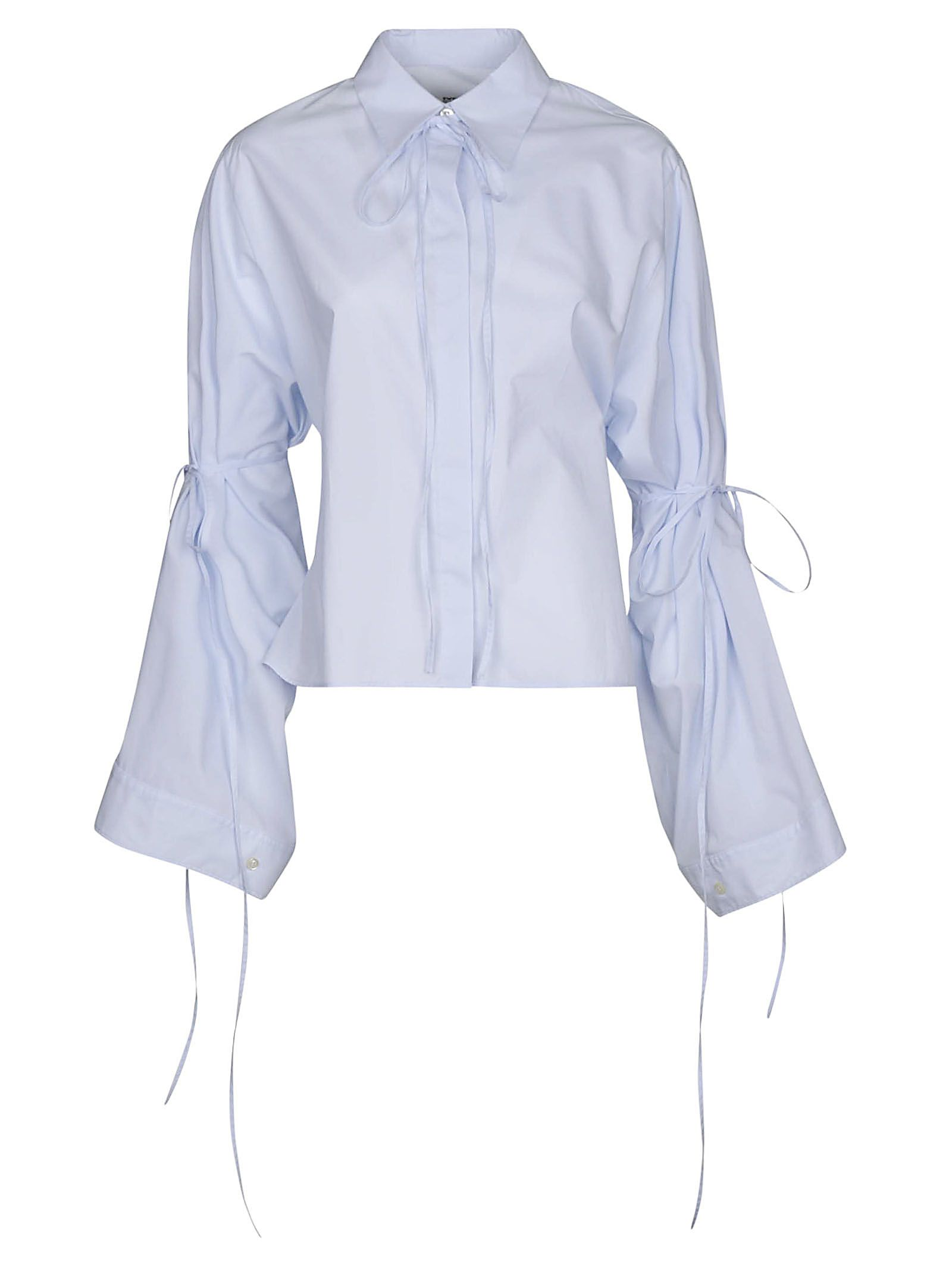 Maison Margiela Paris Tied Oversized Shirt