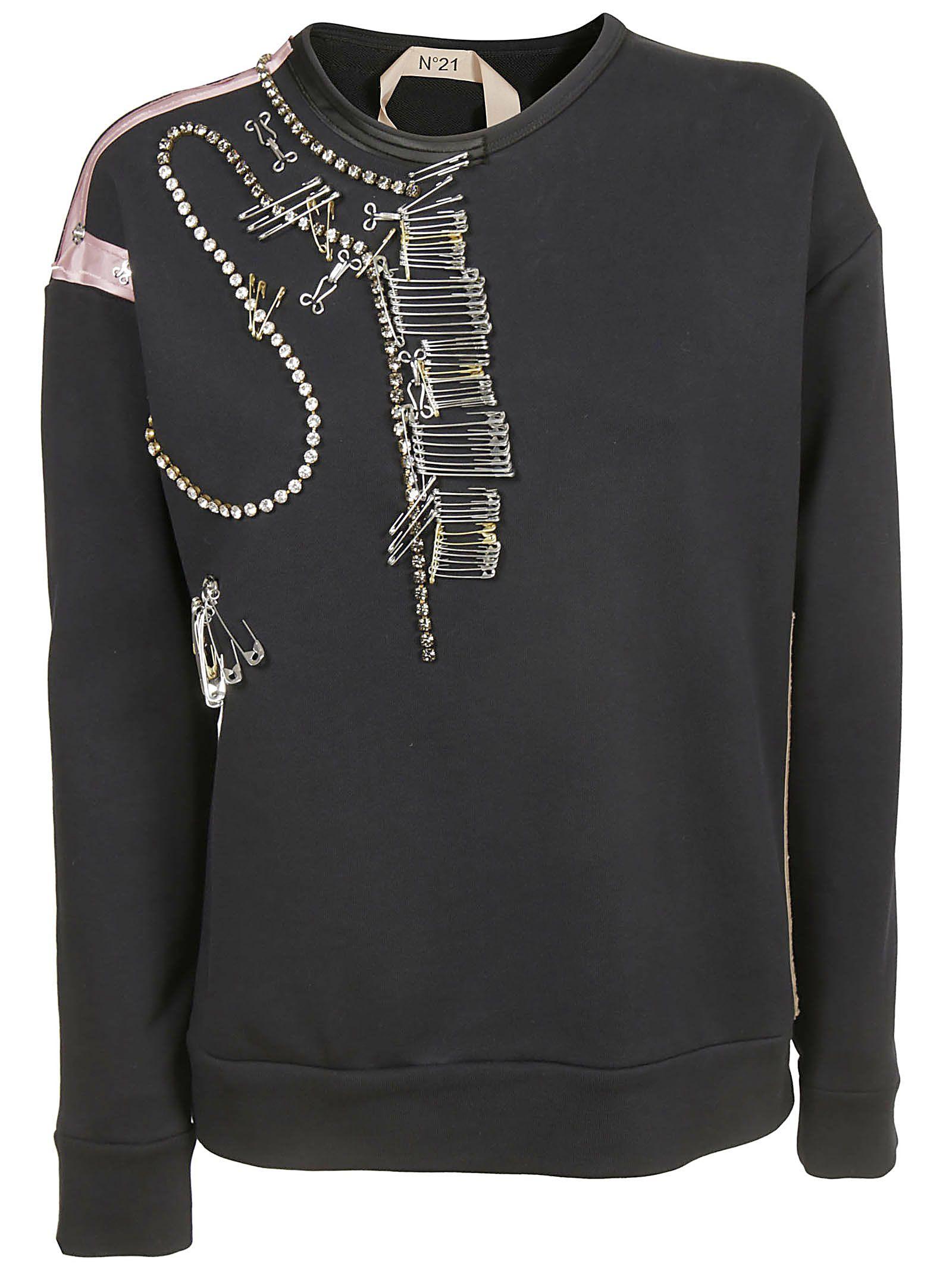 N.21 Embellished Sweatshirt
