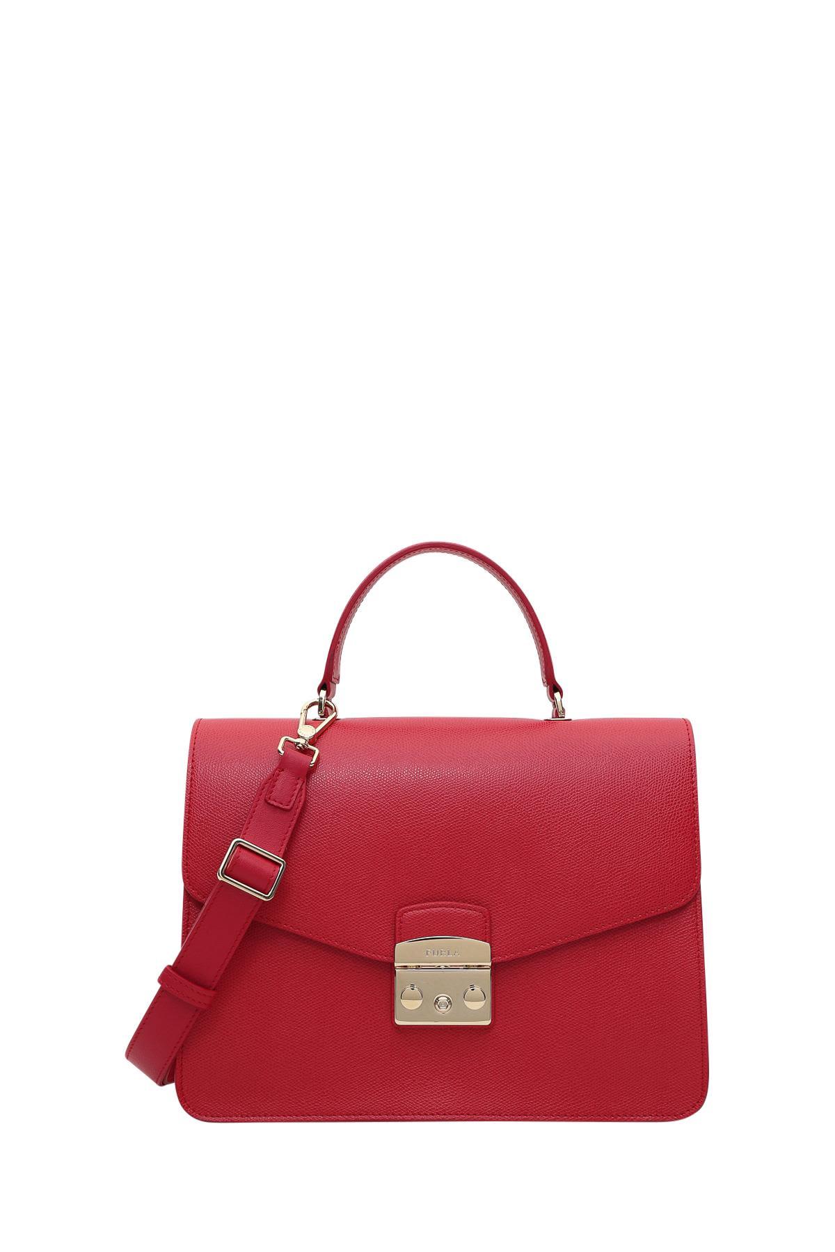 Furla Metropolis M Top Handle Bag