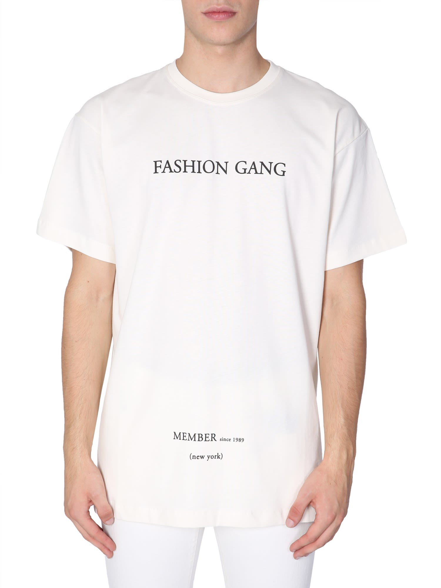 ih nom uh nit Fashion Gang New York Printed T-shirt