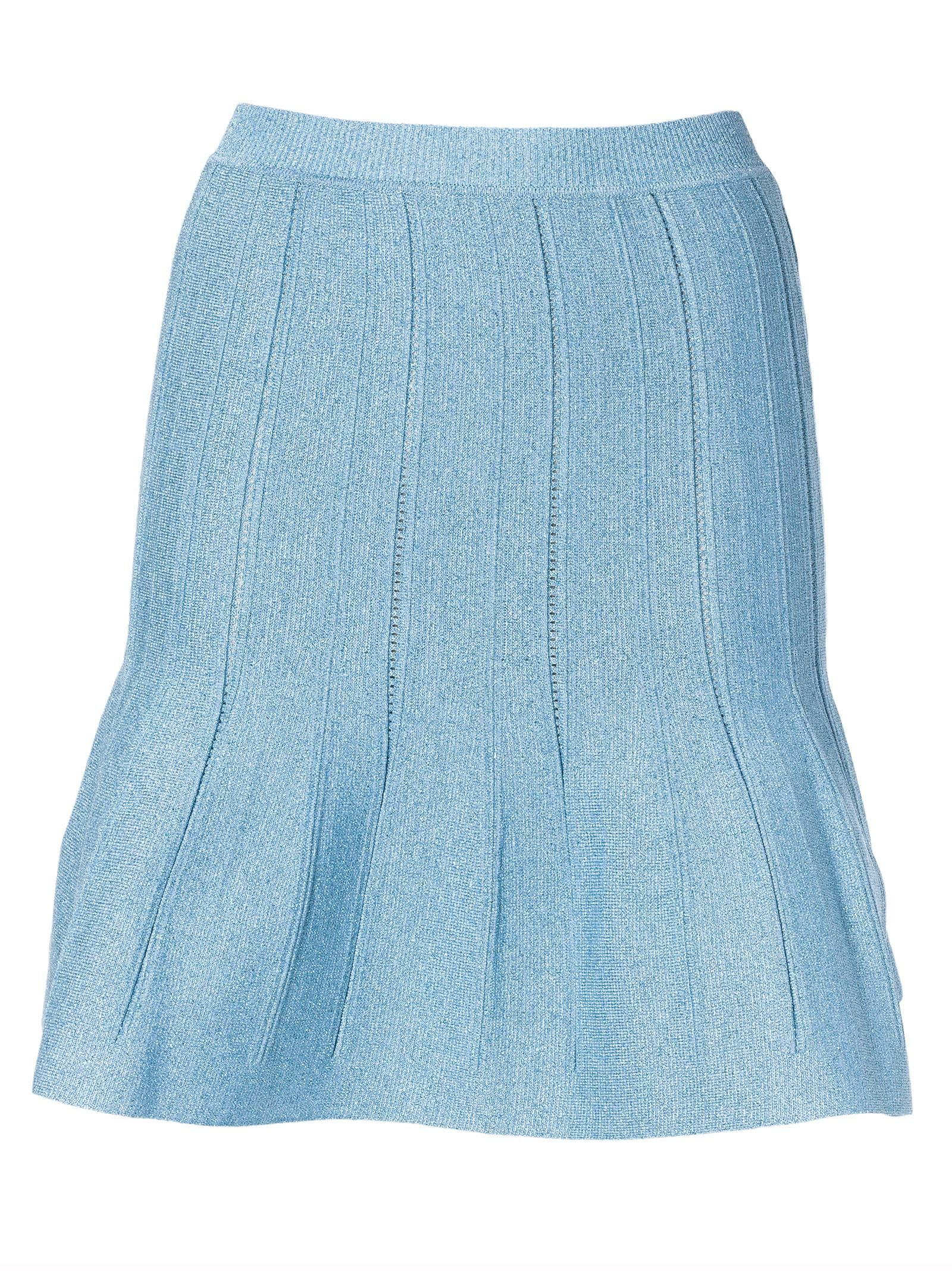 Alberta Ferretti Ruffled Mini Skirt