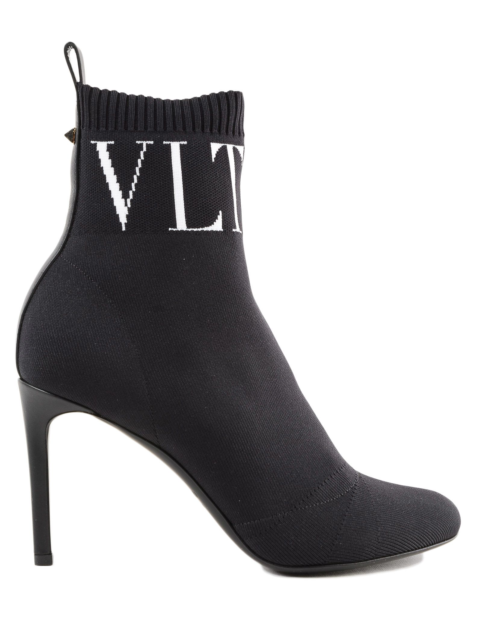 Valentino Garavani Vltn Sock Ankle Boots