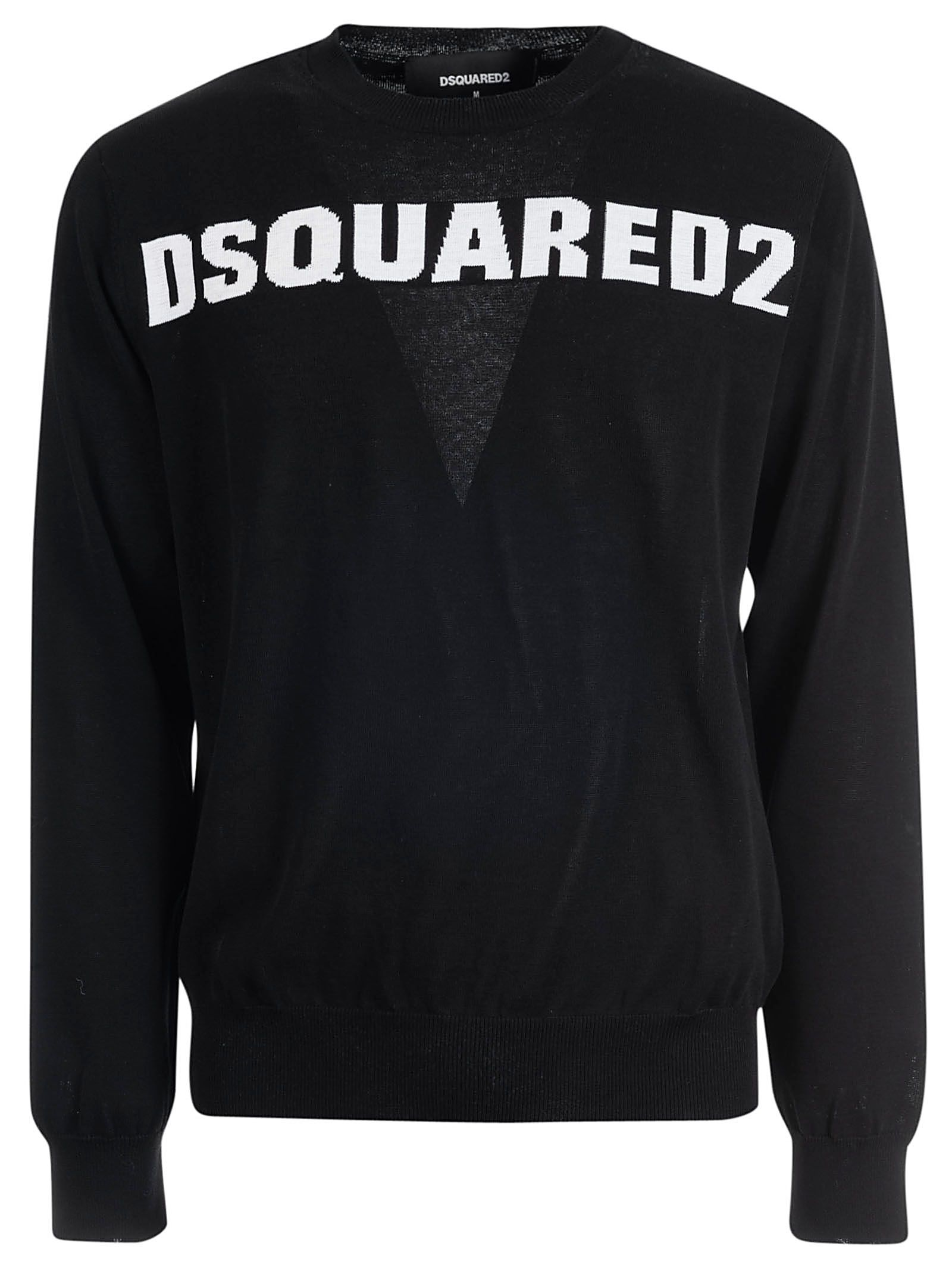 Dsquared2 Fine-knit Logo Sweater