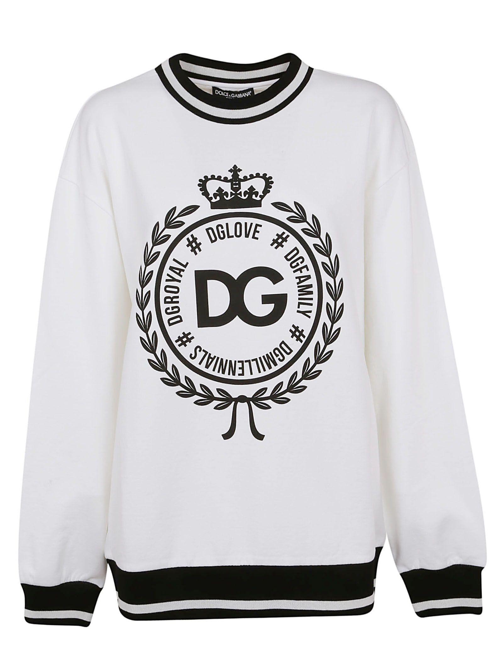 Dolce & Gabbana Round Logo Sweatshirt