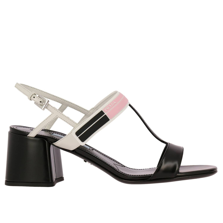 Prada Heeled Sandals Shoes Women Prada