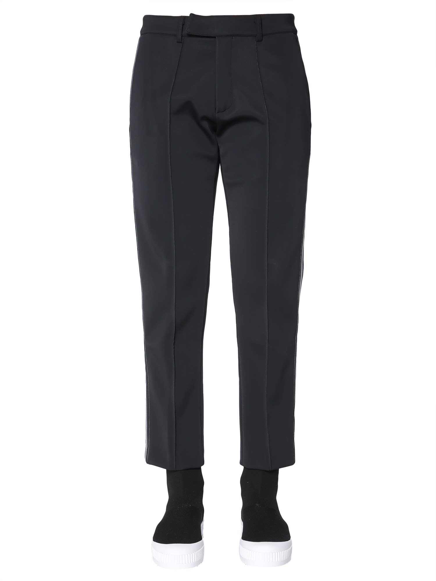 GCDS Trousers In Technical Fabric