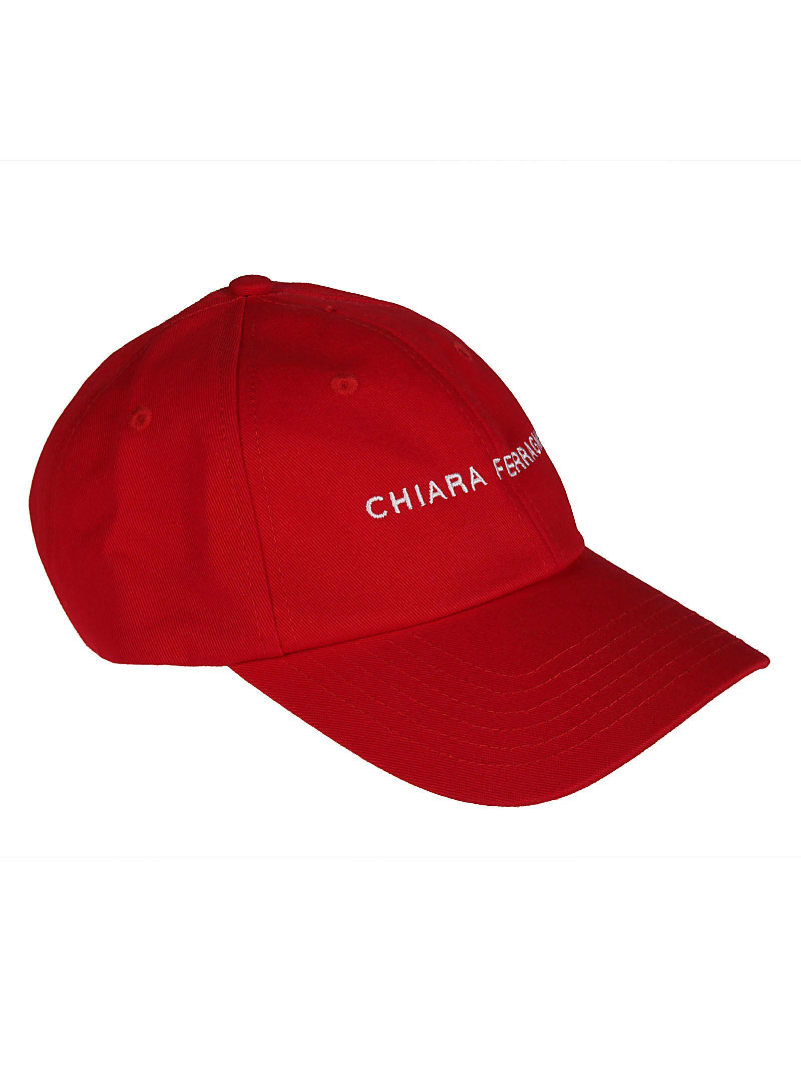 chiara ferragni -  Logo Embroidered Cap