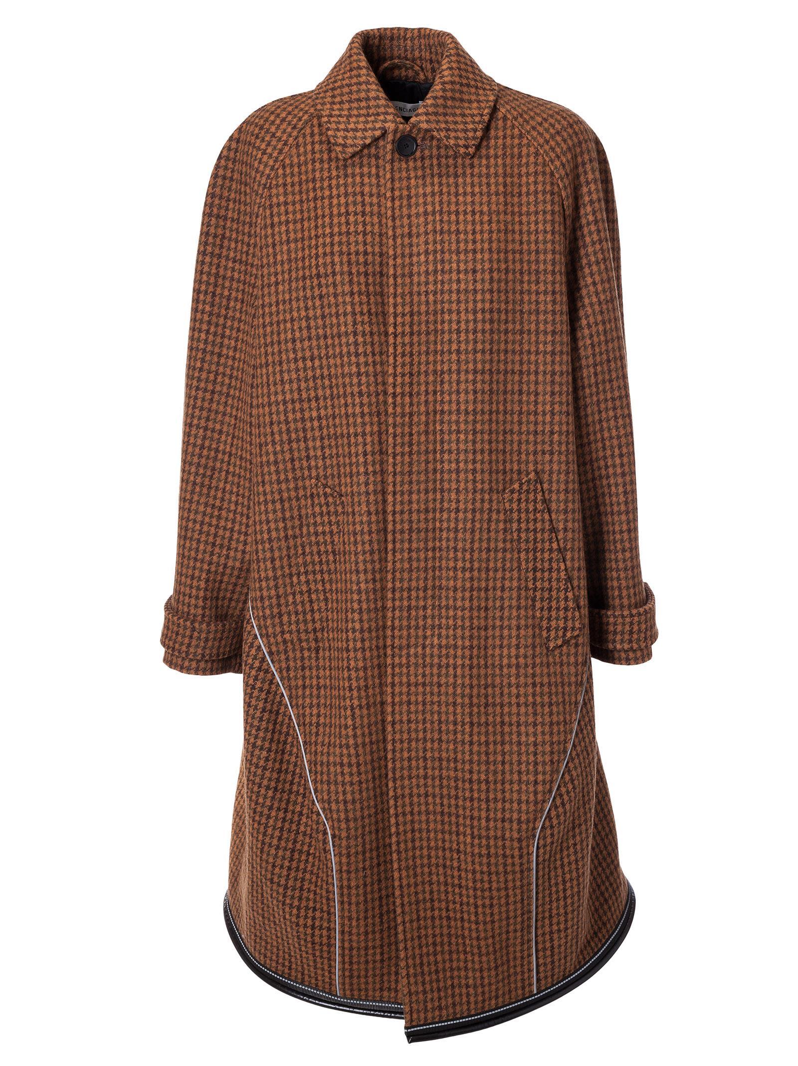 balenciaga -  Checked Coat