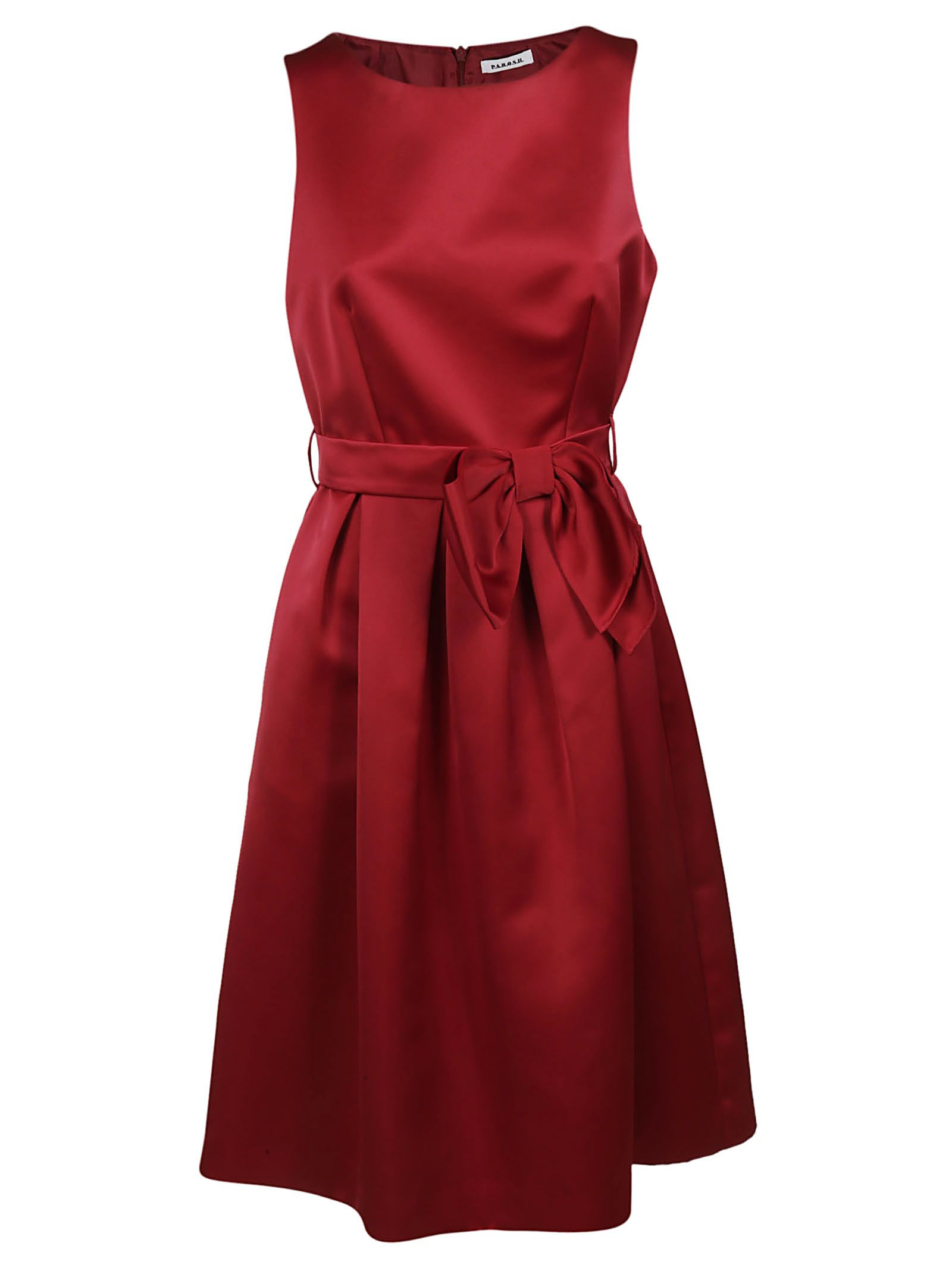 Parosh Bow Detail Dress