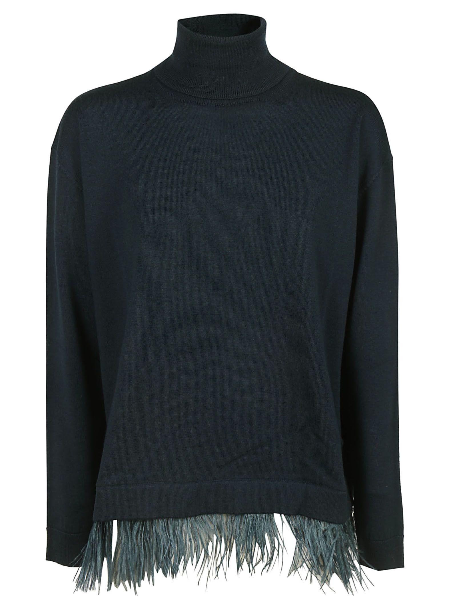 Parosh Fringed Sweater