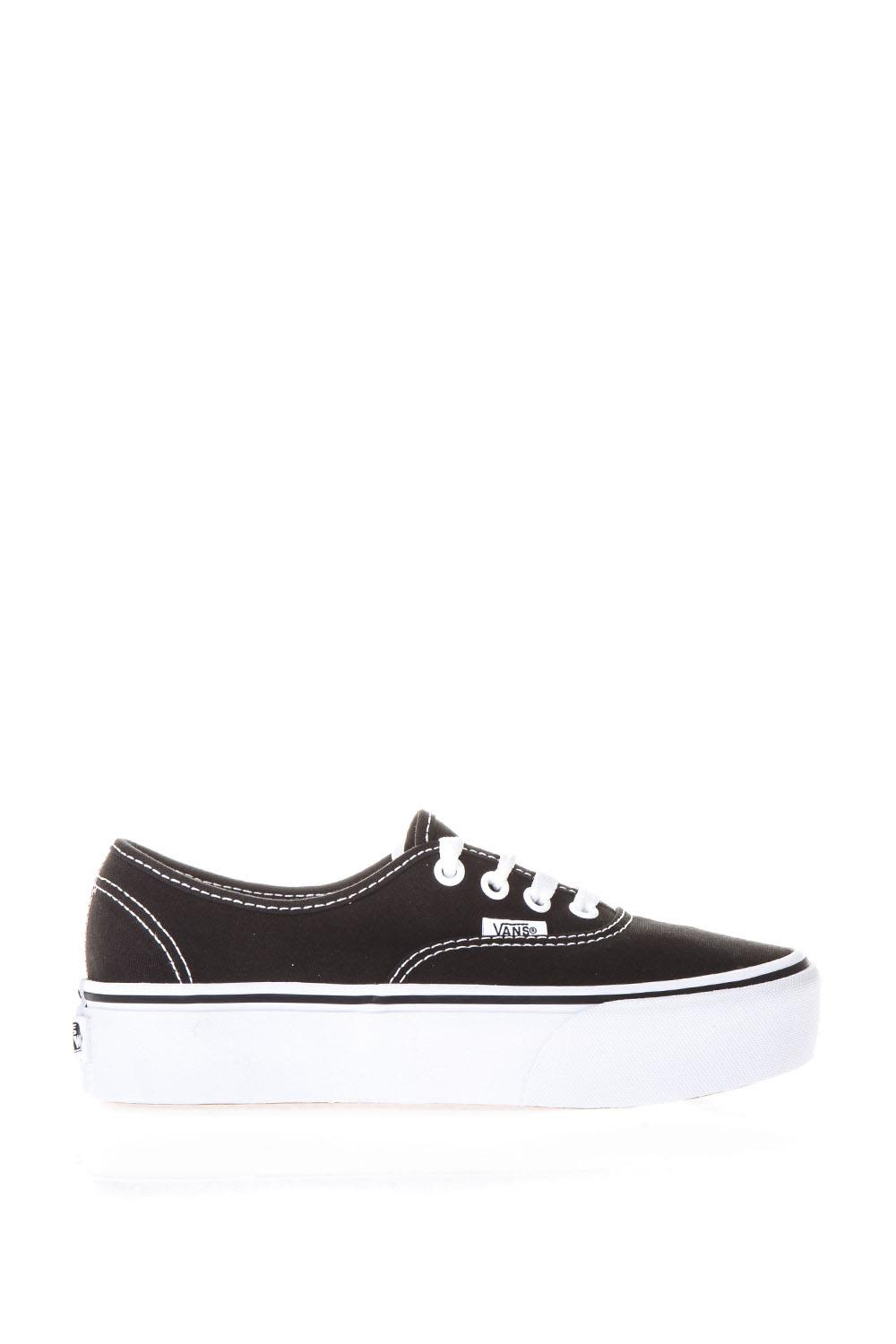Vans Authentic Platform 2.0 Black Sneakers