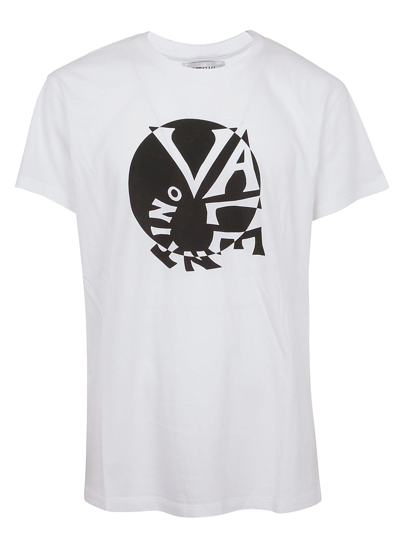 Valentino Swirly Logo Print T-shirt