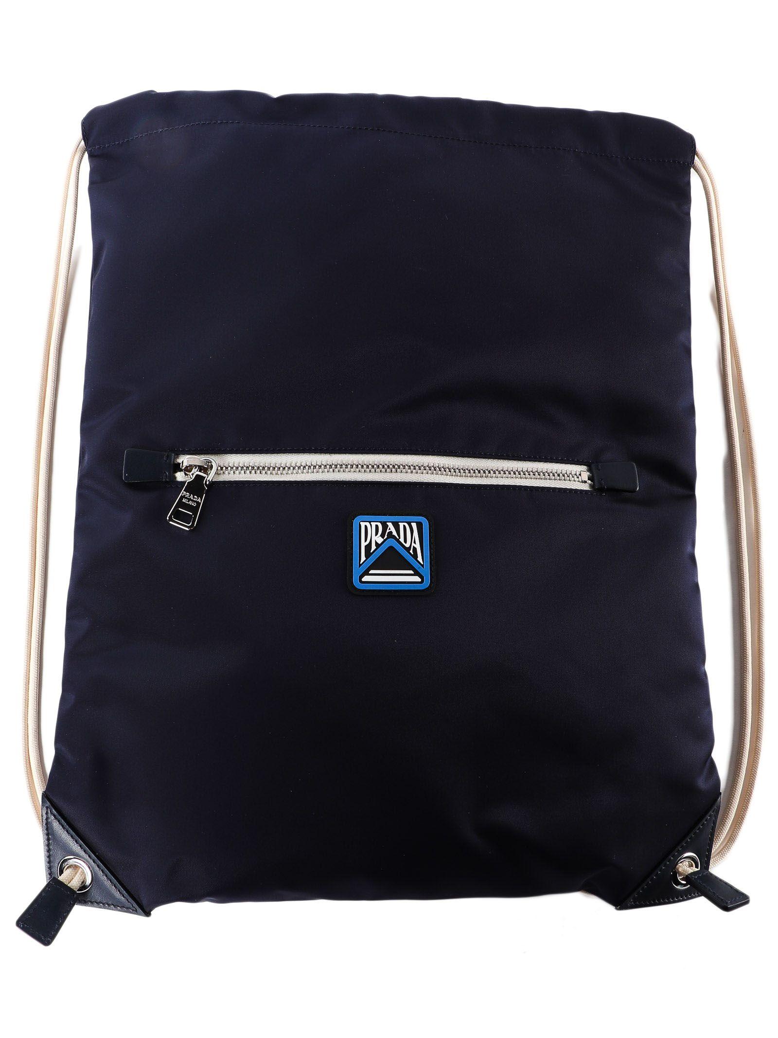 f576df60280 Prada Drawstring Backpack In Baltico   ModeSens