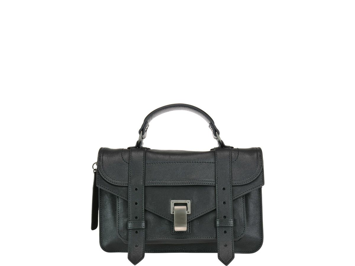 Proenza Schouler Ps1 Tiny Bag In Black   ModeSens 2bfb930674