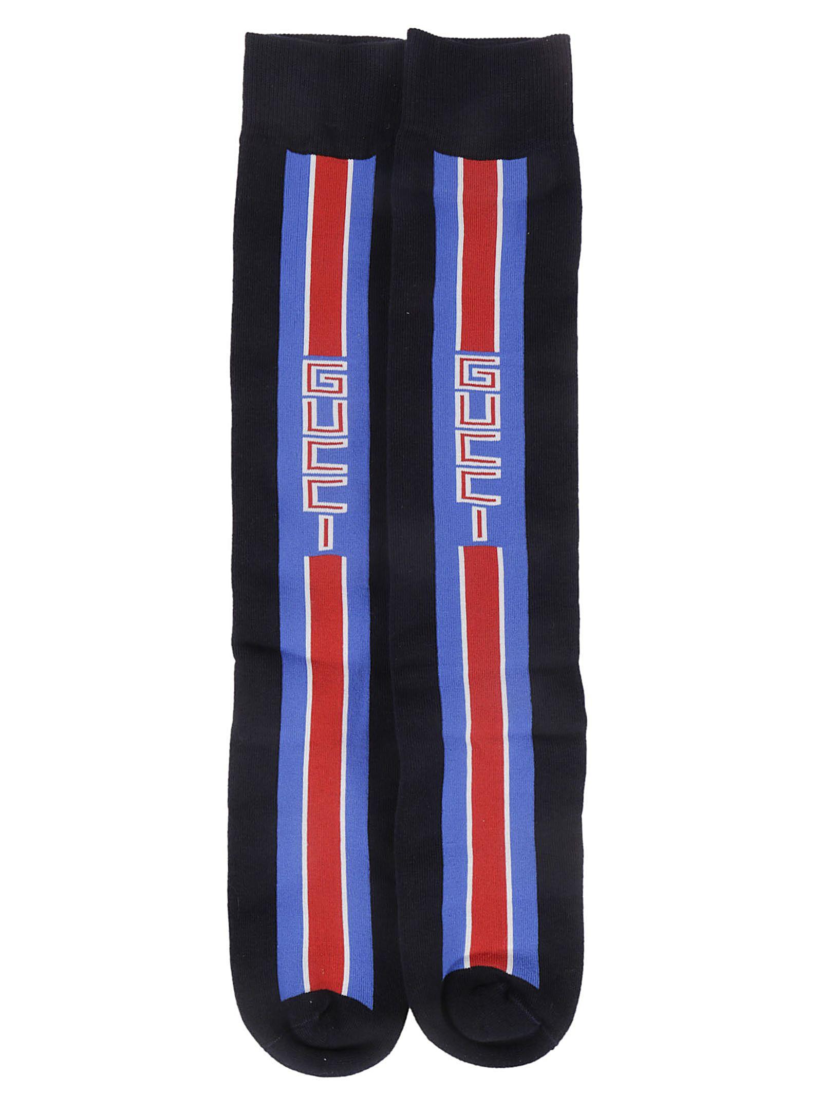 Gucci Logo Stripe Socks
