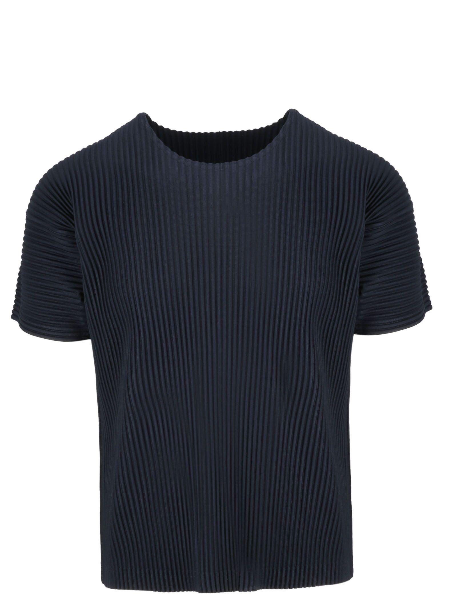 Homme Plisse` Issey Miyake Corduroy T-shirt