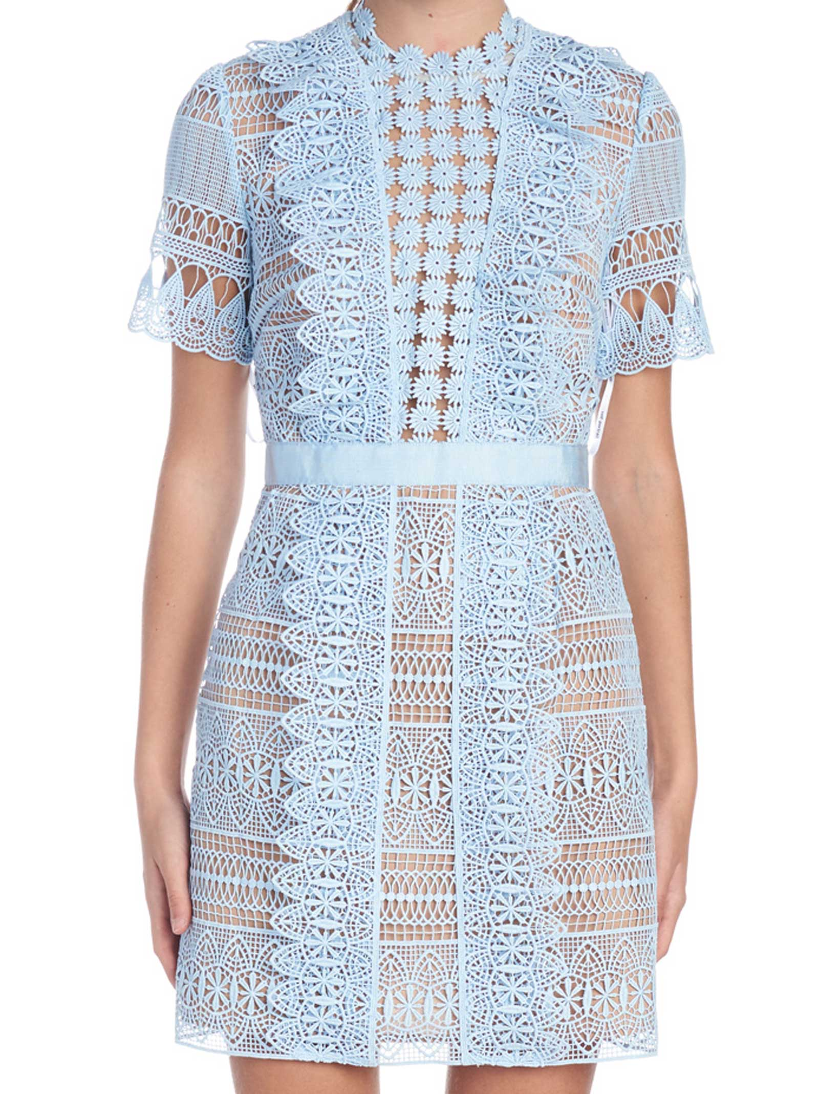 Self-portrait 'spiral Lace' Dress