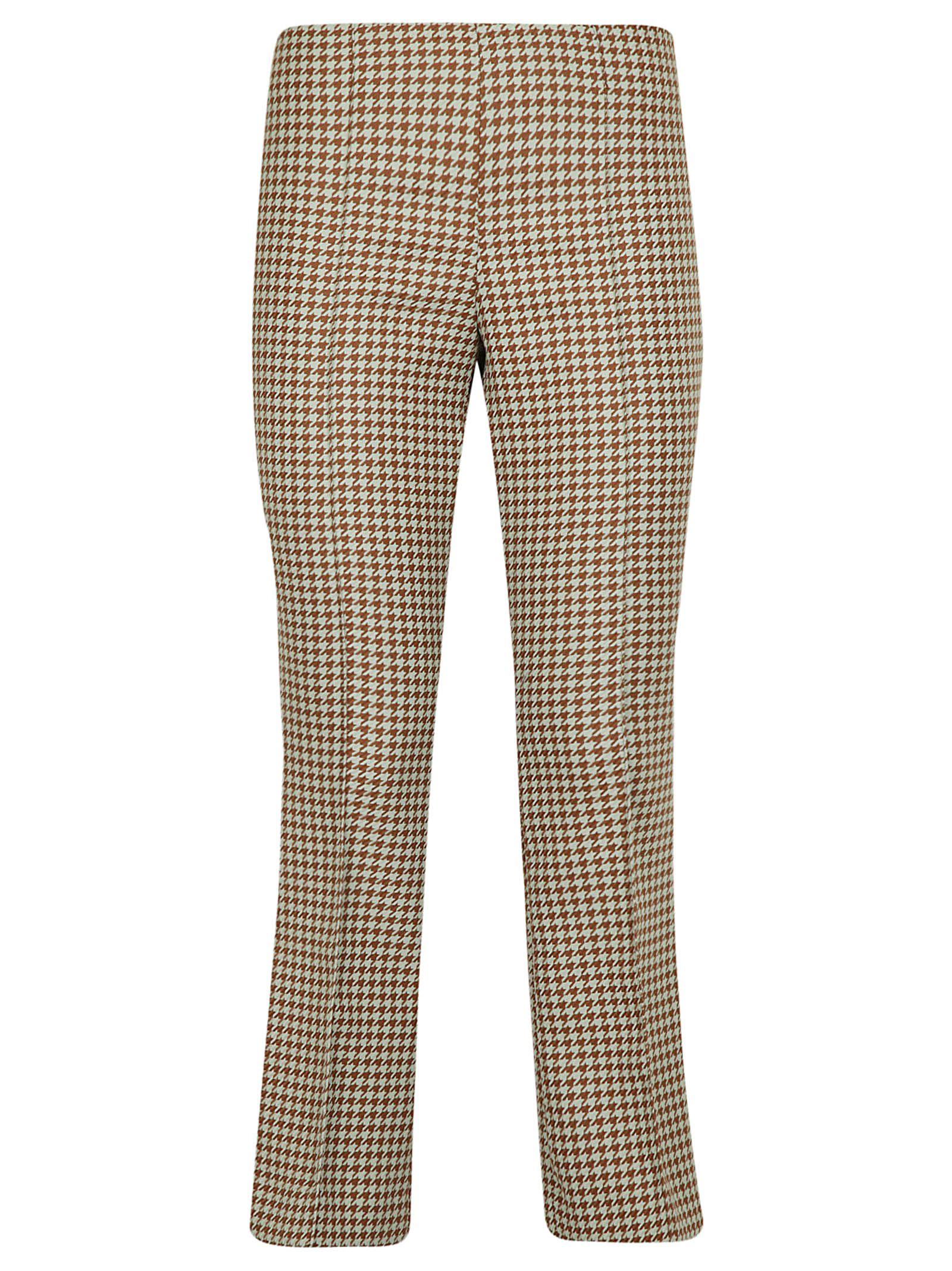 Erika Cavallini Cropped Flared Trousers
