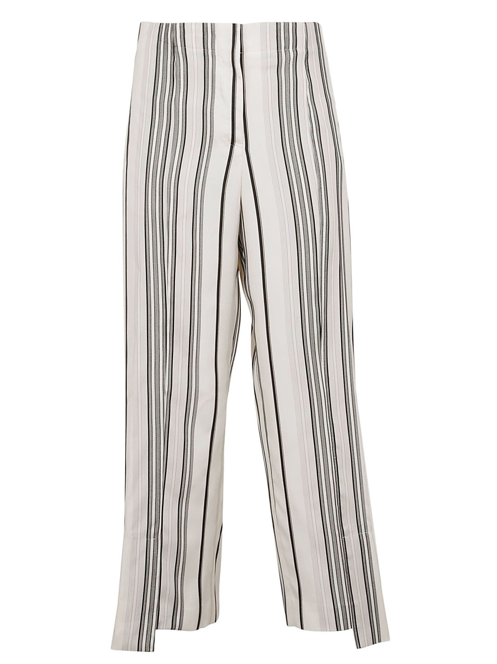 Jil Sander Striped Trousers