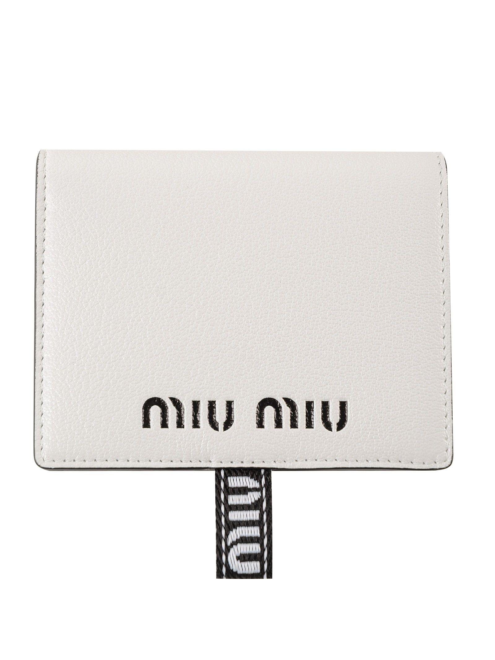 Miu Miu Madras Sport Wallet