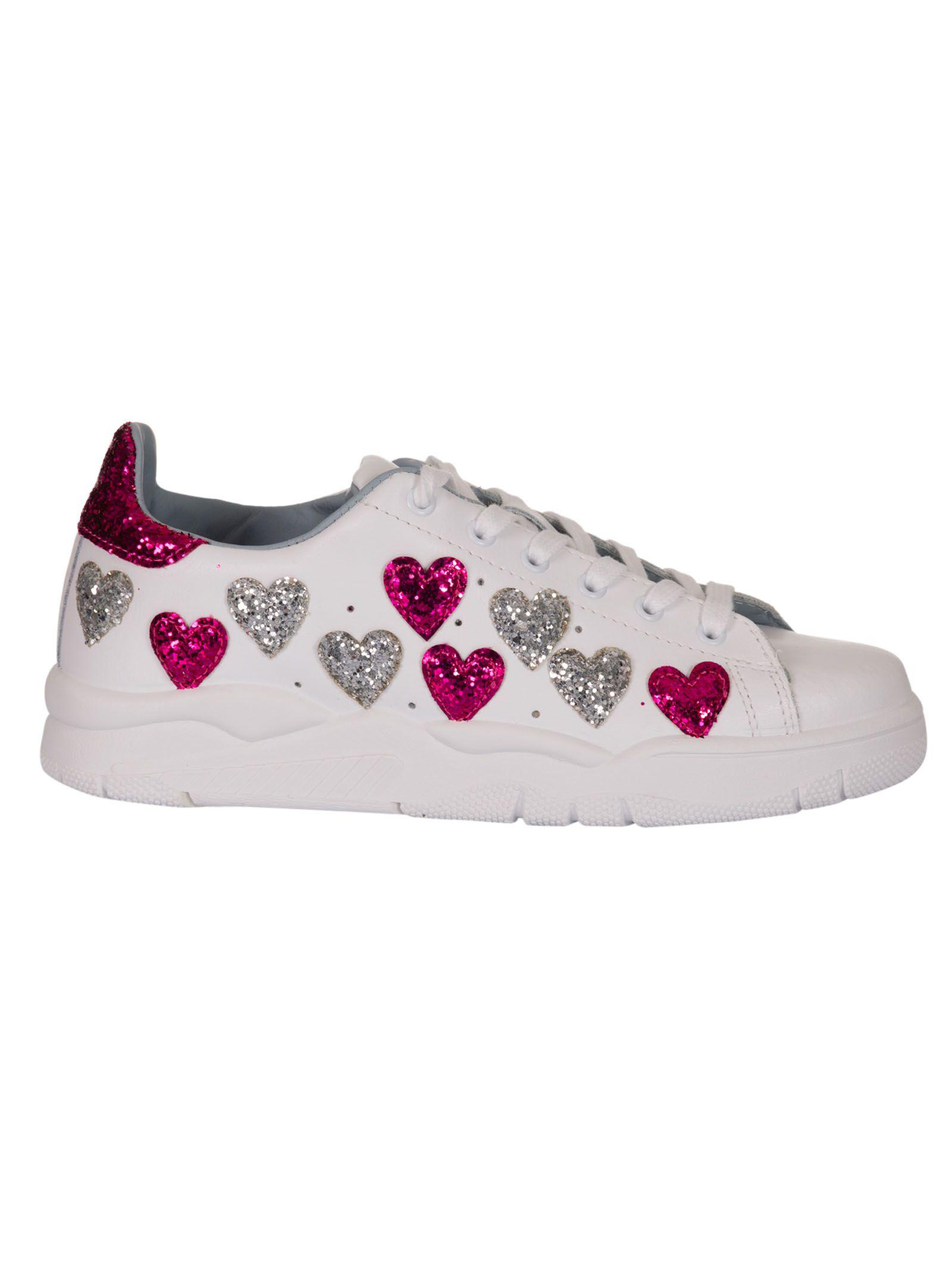 Chiara Ferragni Heart Sneakers