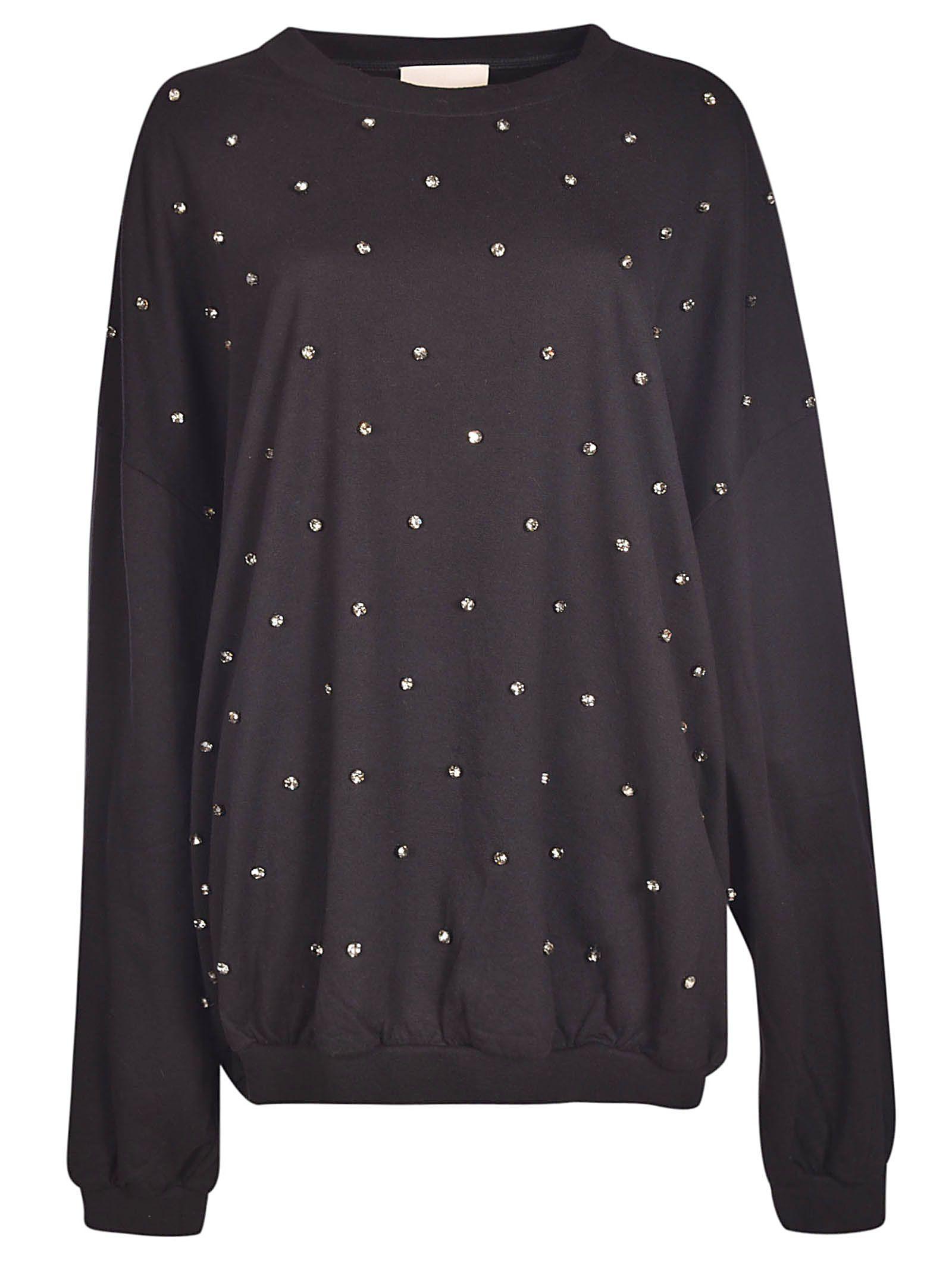 Erika Cavallini Embellished Oversized Shirt
