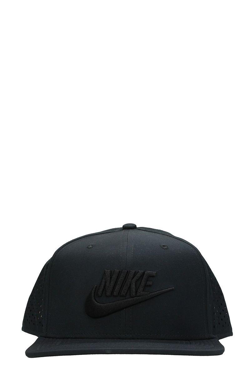 Nike Pro Tech Black Cotton Cap