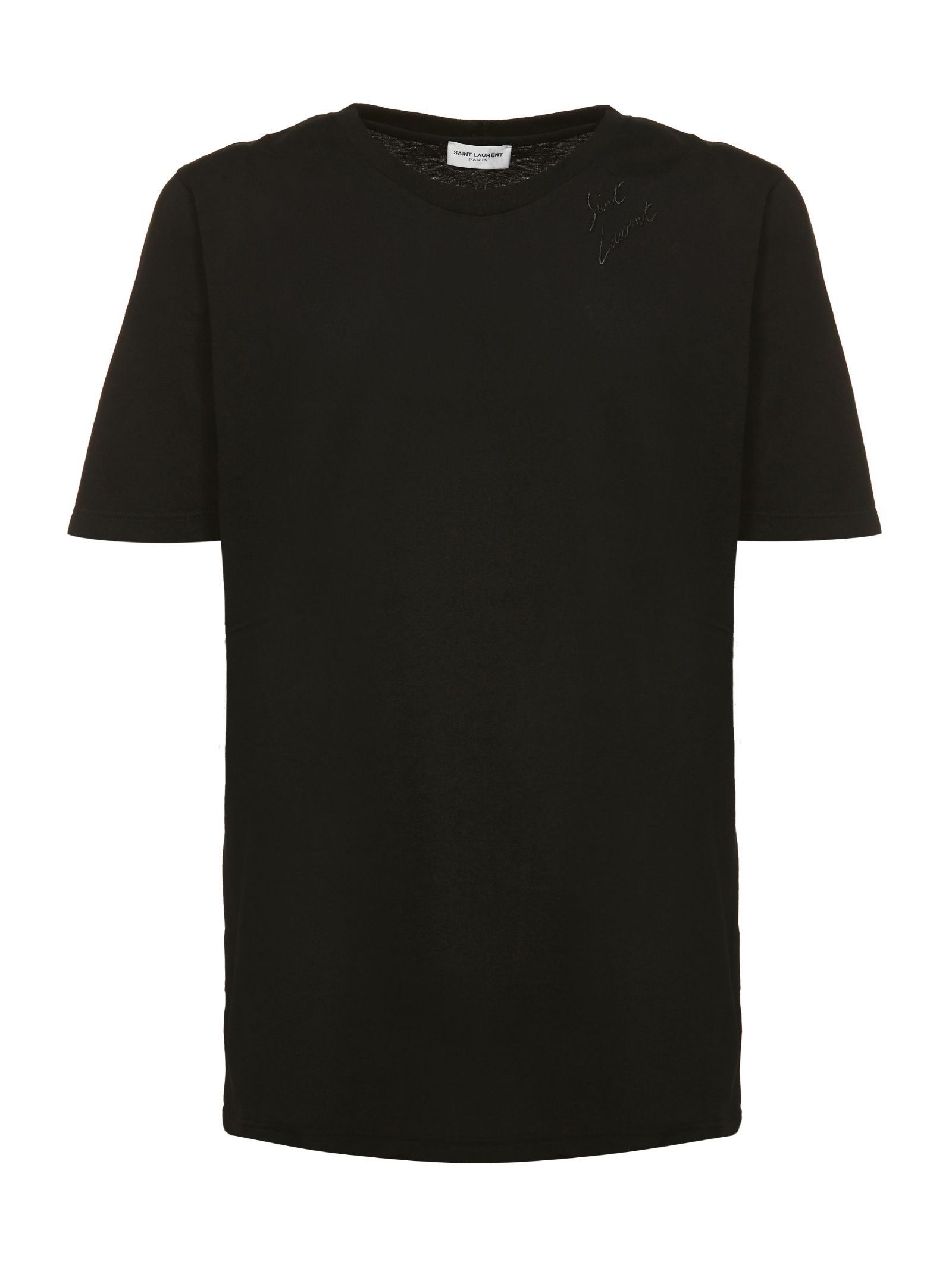 Saint Laurent Signature Logo T-shirt
