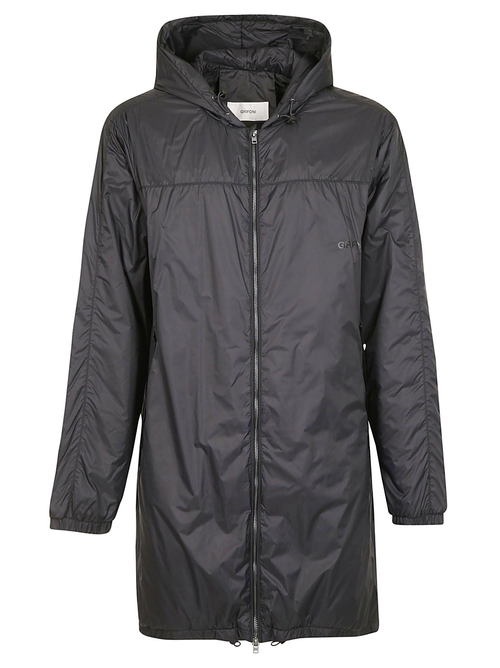 Mauro Grifoni Zip-up Raincoat