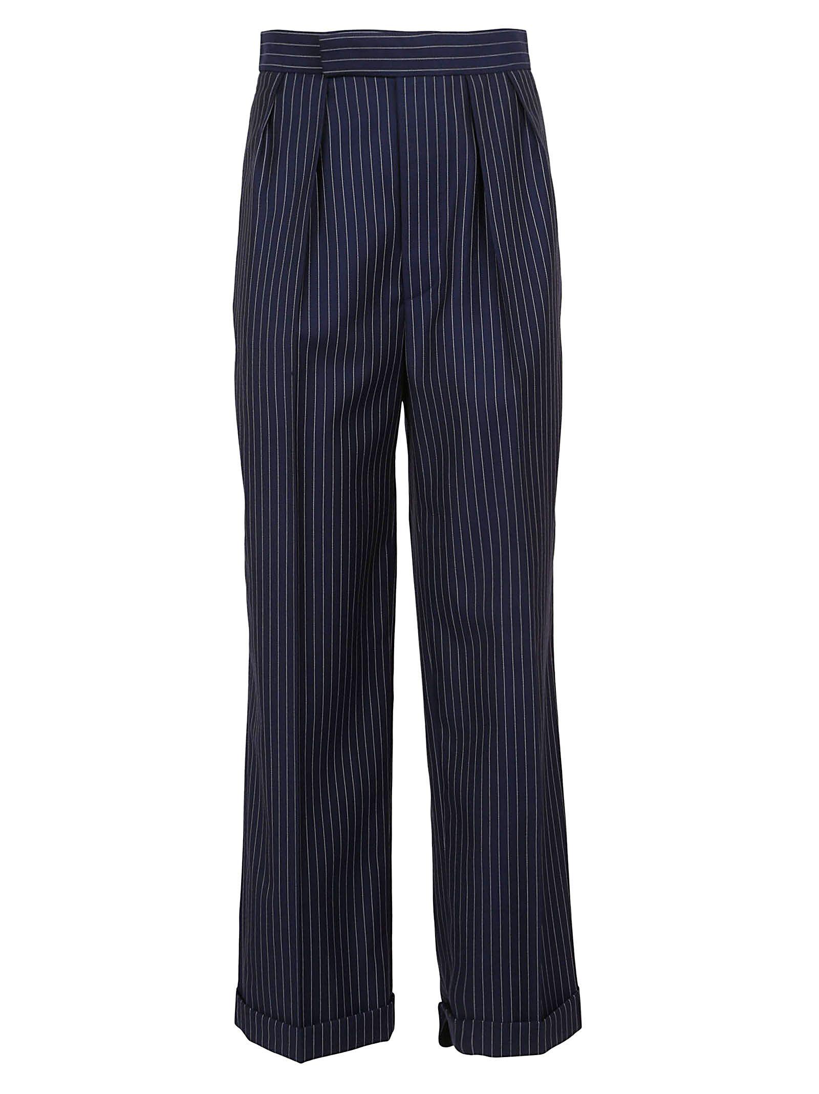 ralph lauren black label - Ralph Lauren Black Pinstripe Trousers