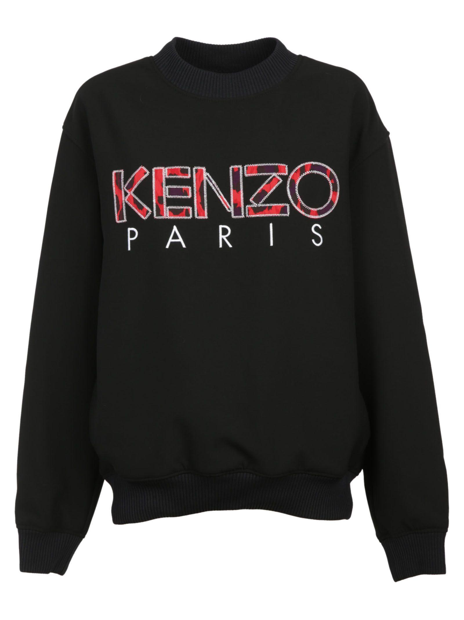 Kenzo Logo Woven Sweatshirt