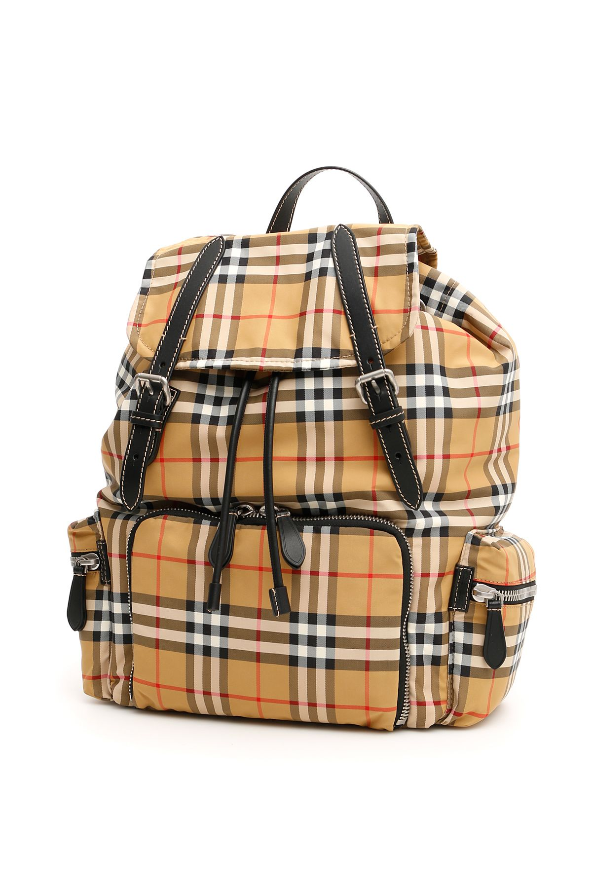 Burberry Medium Rucksack In Vintage Check