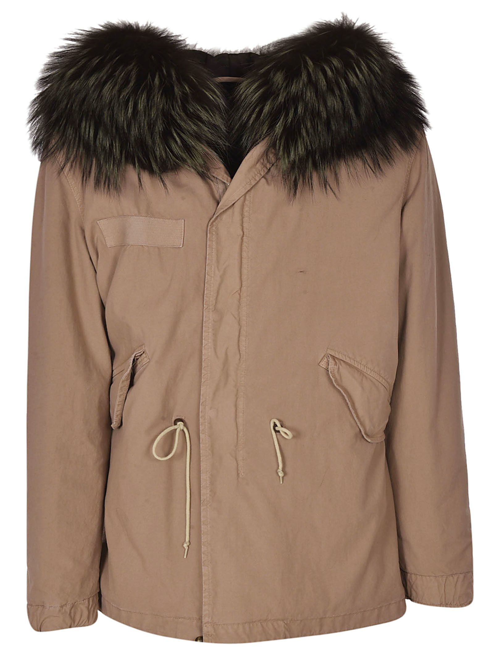 Mr & Mrs Italy Fur Trimmed Parka